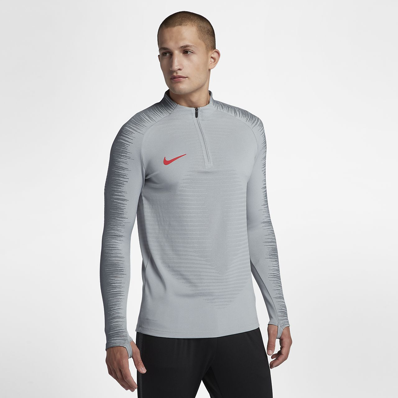 Ανδρική μακρυμάνικη ποδοσφαιρική μπλούζα Nike VaporKnit Strike