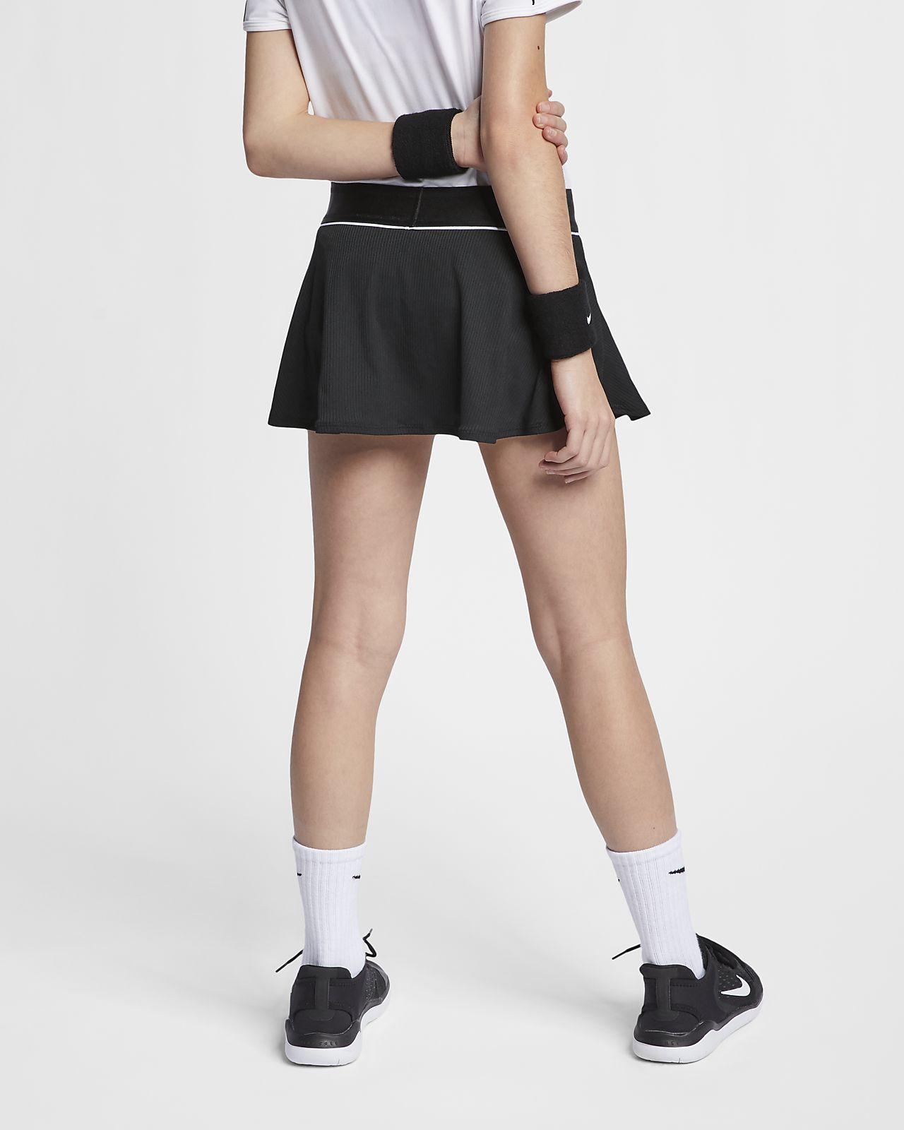 c55d6338cf NikeCourt Big Kids' (Girls') Tennis Skirt. Nike.com