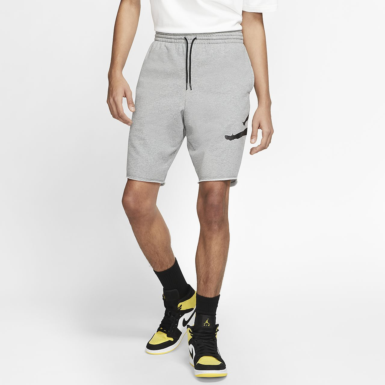 great fit 4098e 439c8 usa jordan jumpman air pantalón corto de tejido fleece hombre 08293 ed63c
