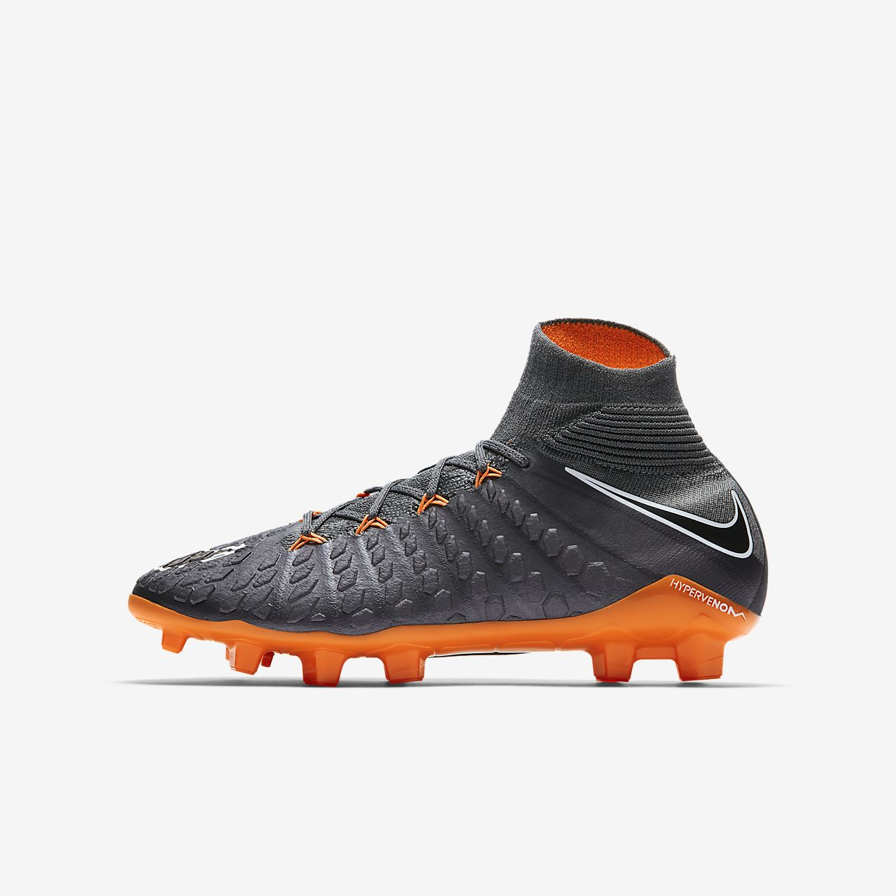 buy popular 600bb f9343 official store nike jr. hypervenom phantom iii elite dynamic fit fg  fotballsko til gress for