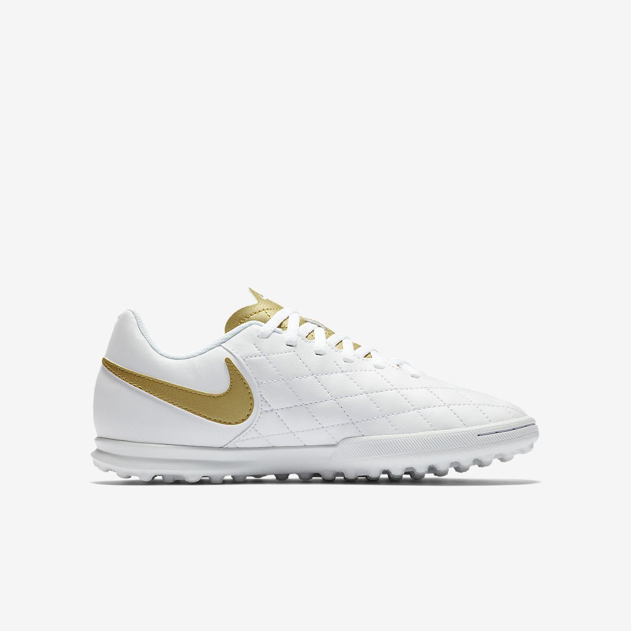 online store 6cfbf 83518 Nike Jr TiempoX Legend VII Club 10R Younger/Older Kids' Turf Football Shoe