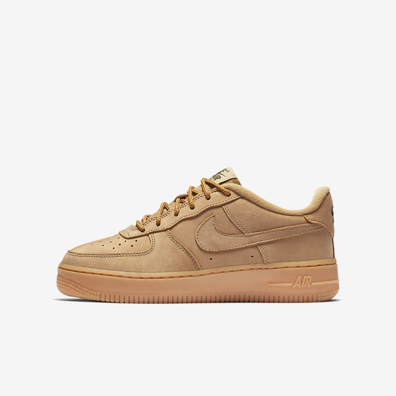 junior air force 1 lv8 'flax' trainer nz