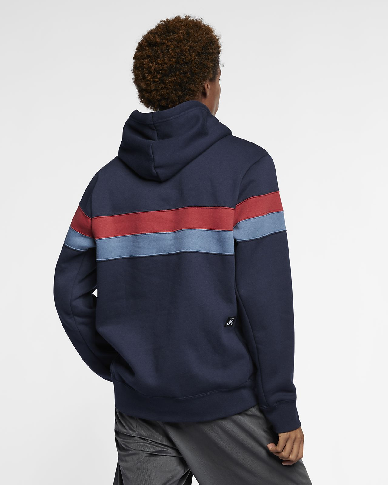 33a04aa0f839 Nike SB Icon Men s Striped Skate Hoodie. Nike.com BE