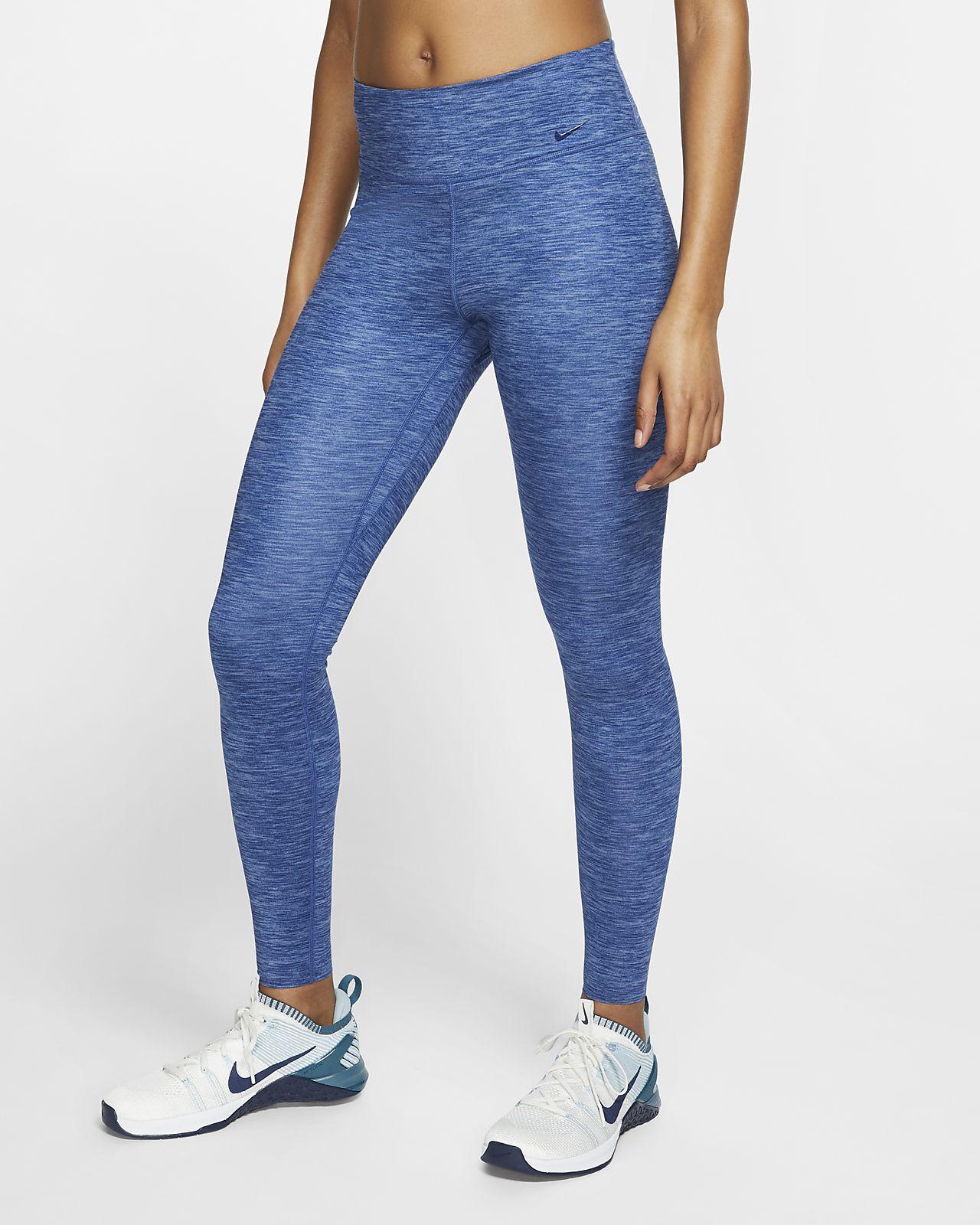 Mallas jaspeadas para mujer Nike One Luxe