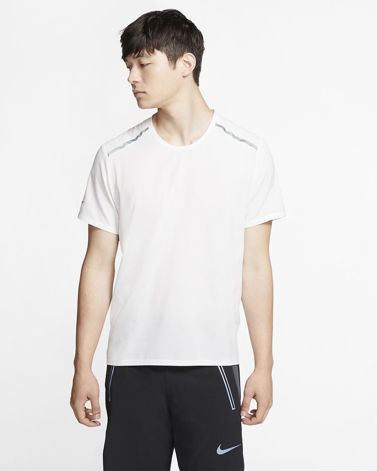 Nike Kurzarm-Laufoberteil für Herren