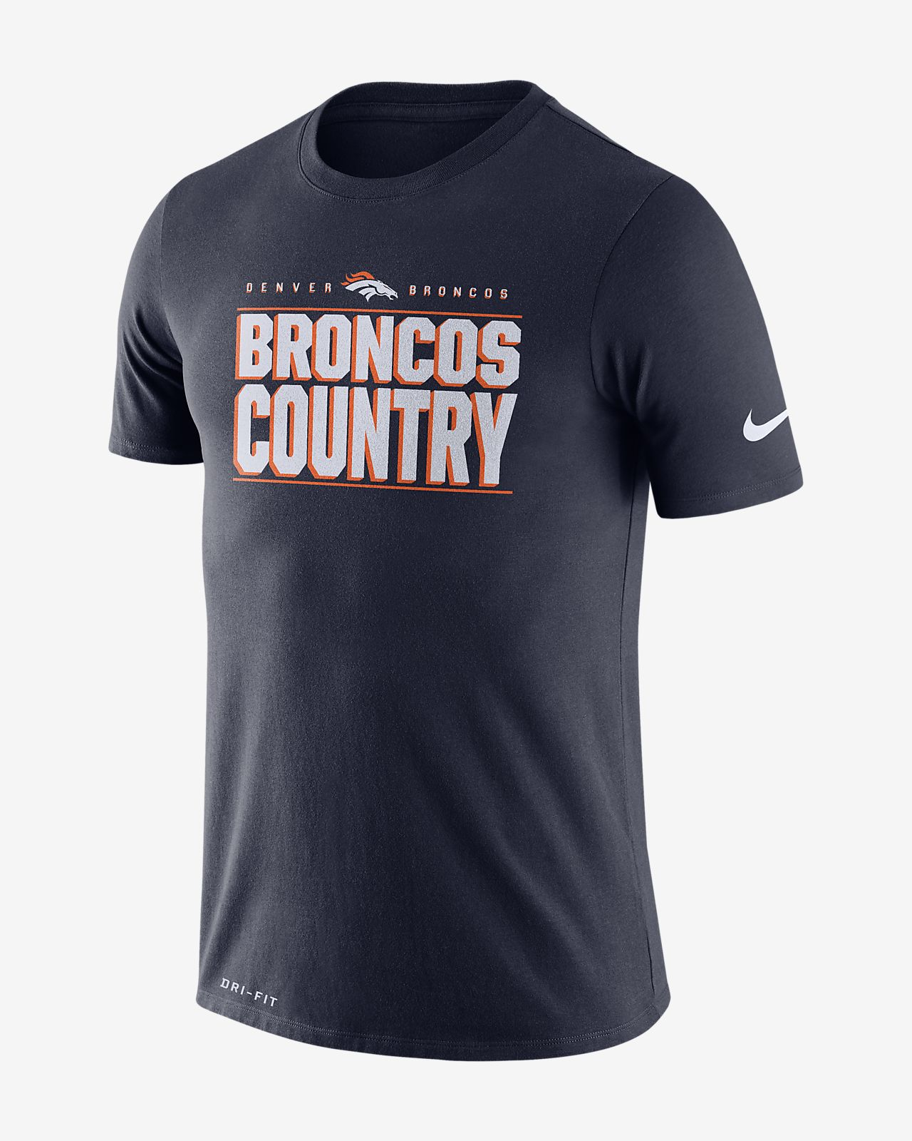 Nike Dri-FIT Local (NFL Broncos) Men's T-Shirt