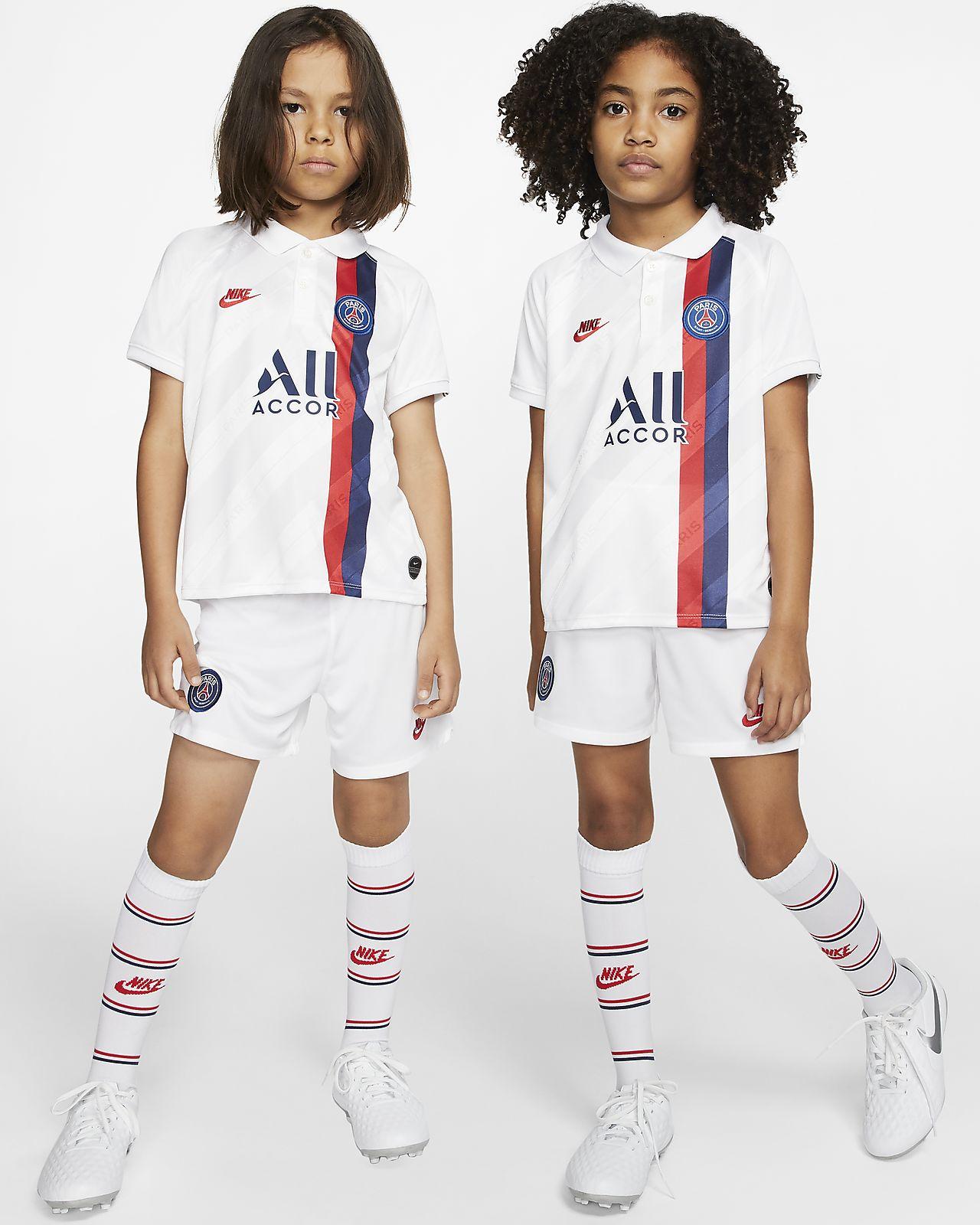Tenue de football Paris Saint-Germain 2019/20 Third pour Jeune enfant
