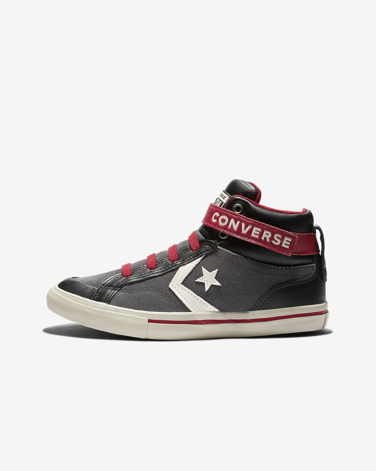 Converse Pro Blaze Strap High Top Big Kids' Shoe