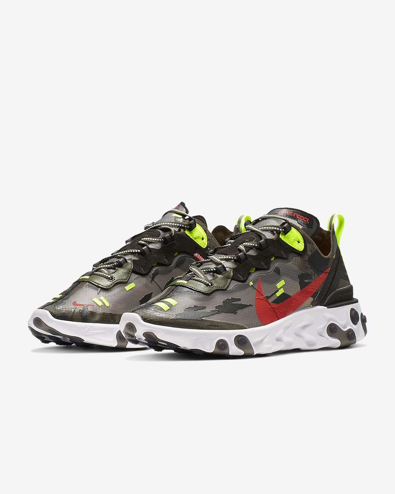 best sneakers 02717 fbee7 ... Nike React Element 87 Men s Shoe
