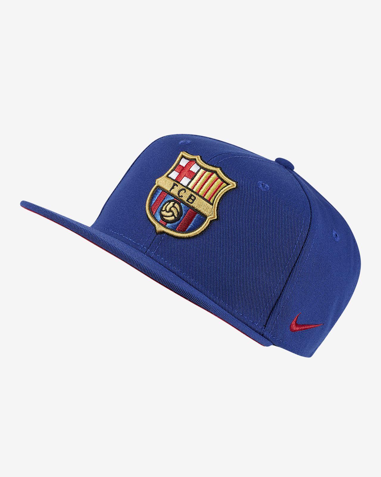 Justerbar keps Nike Pro FC Barcelona för ungdom