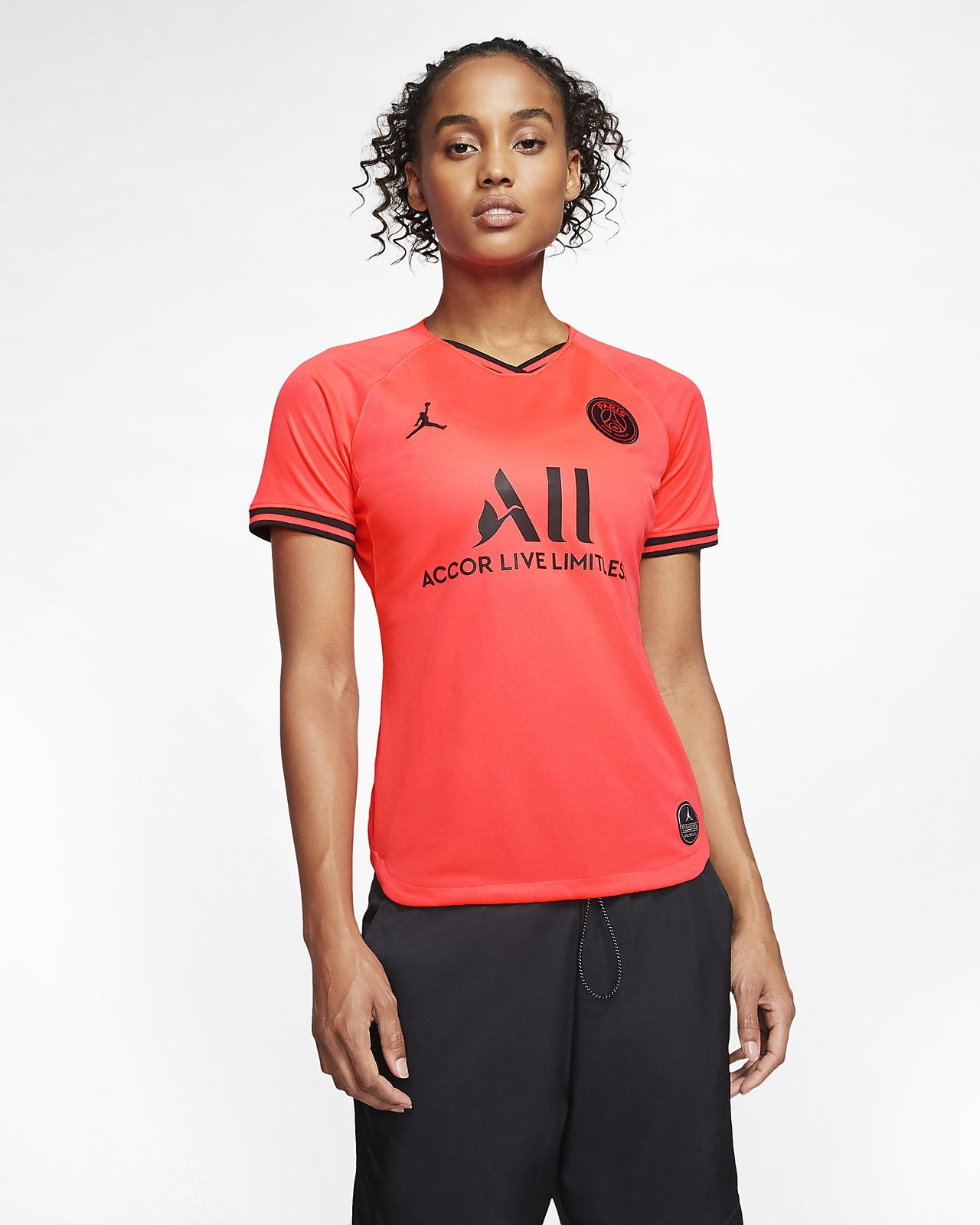 Maglia da calcio Jordan x Paris Saint-Germain 2019/20 Stadium Away - Donna