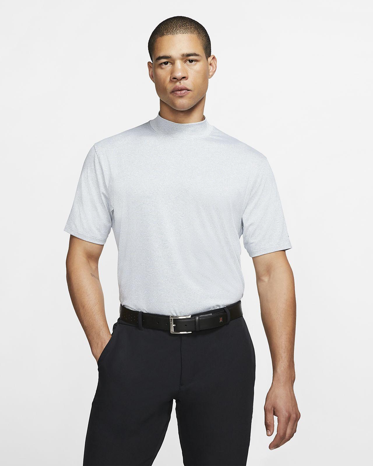 Nike Dri-FIT Tiger Woods Vapor Men's Mock-Neck Golf Top