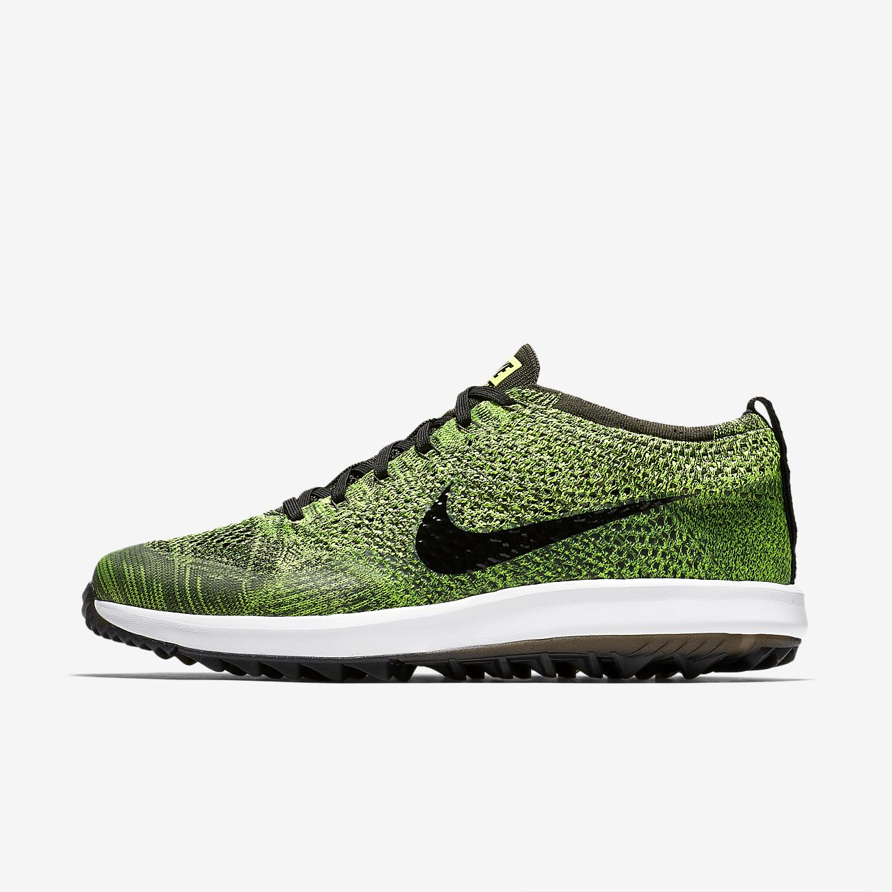 official photos 970b2 e497c ... Golfsko Nike Flyknit Racer G för män