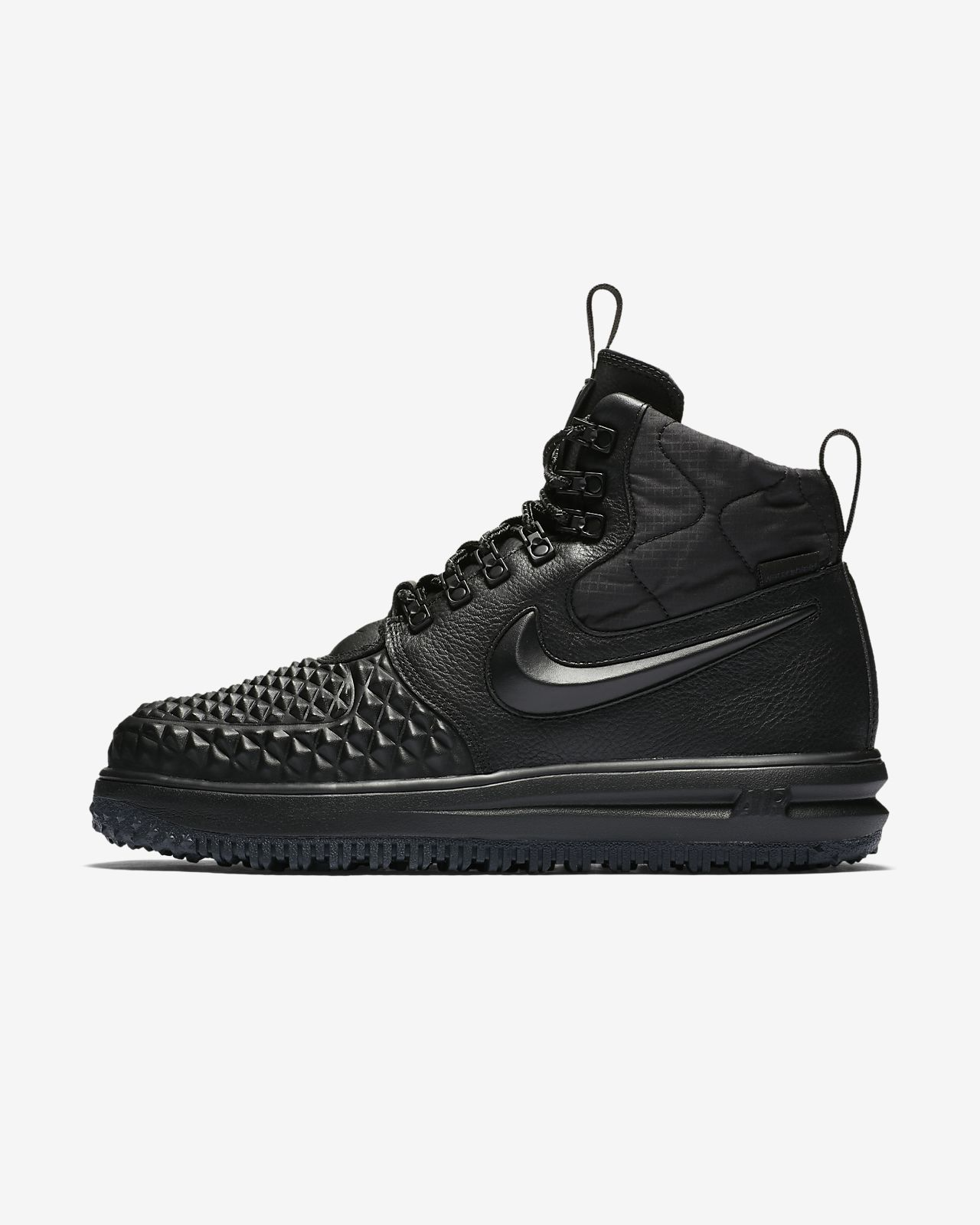 nike air force 1 duckboot czarne
