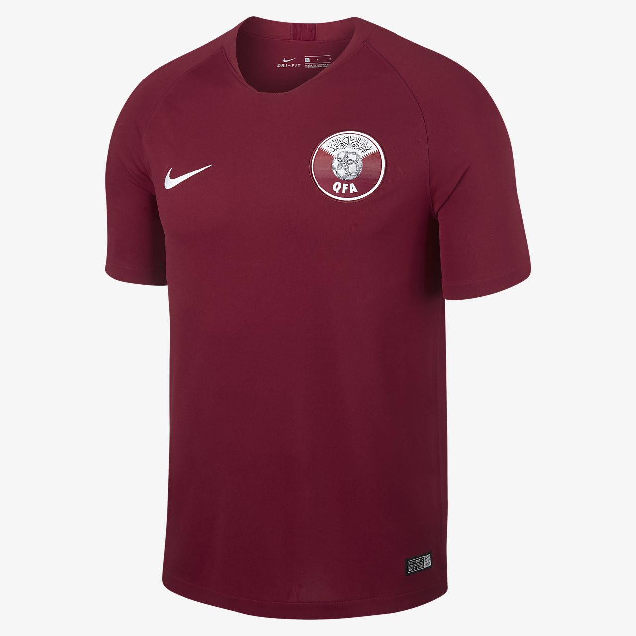 Maillot de football 2018 Qatar Stadium Home pour Homme