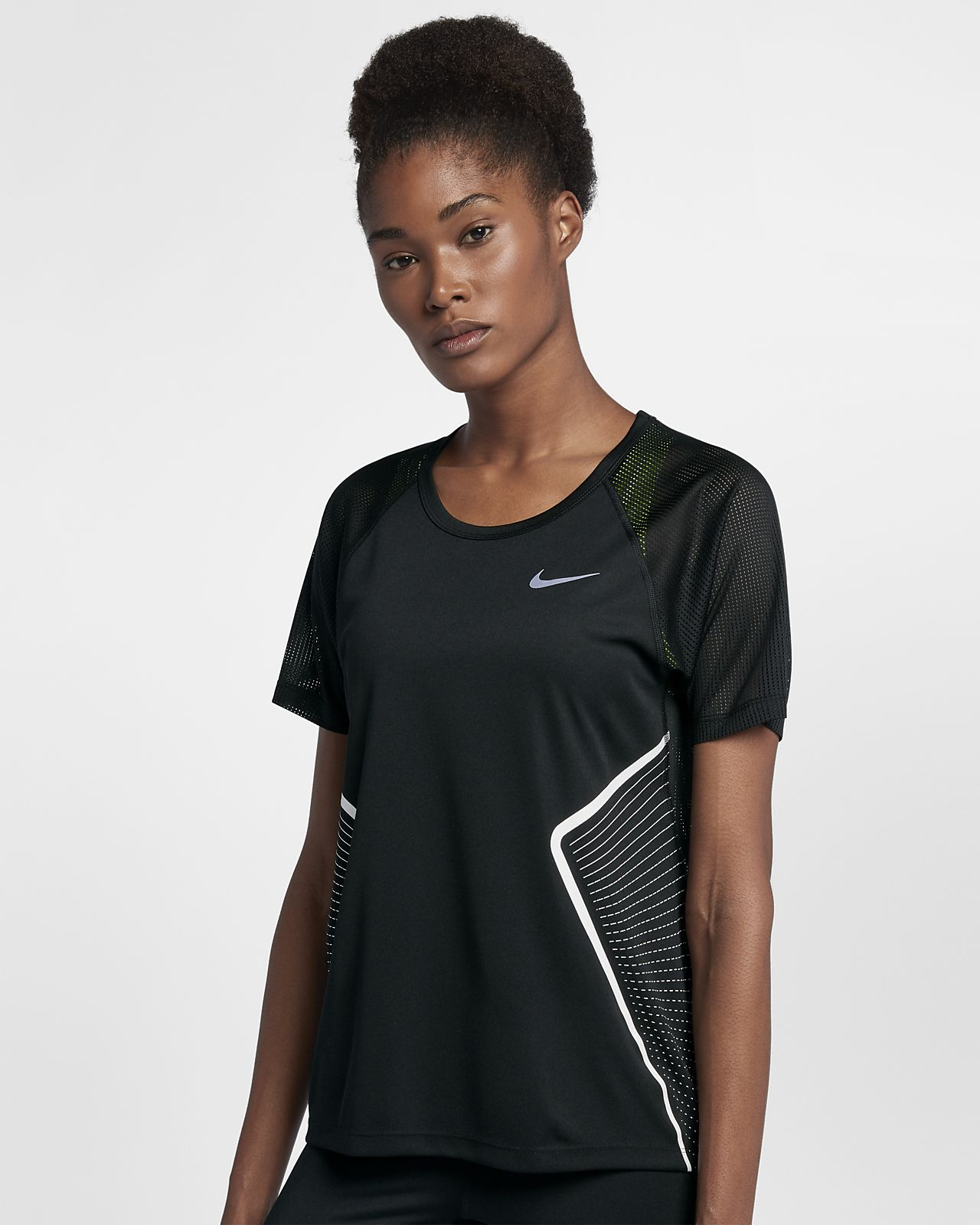 ... Nike Dri-FIT Miler Women's Short Sleeve Running Top