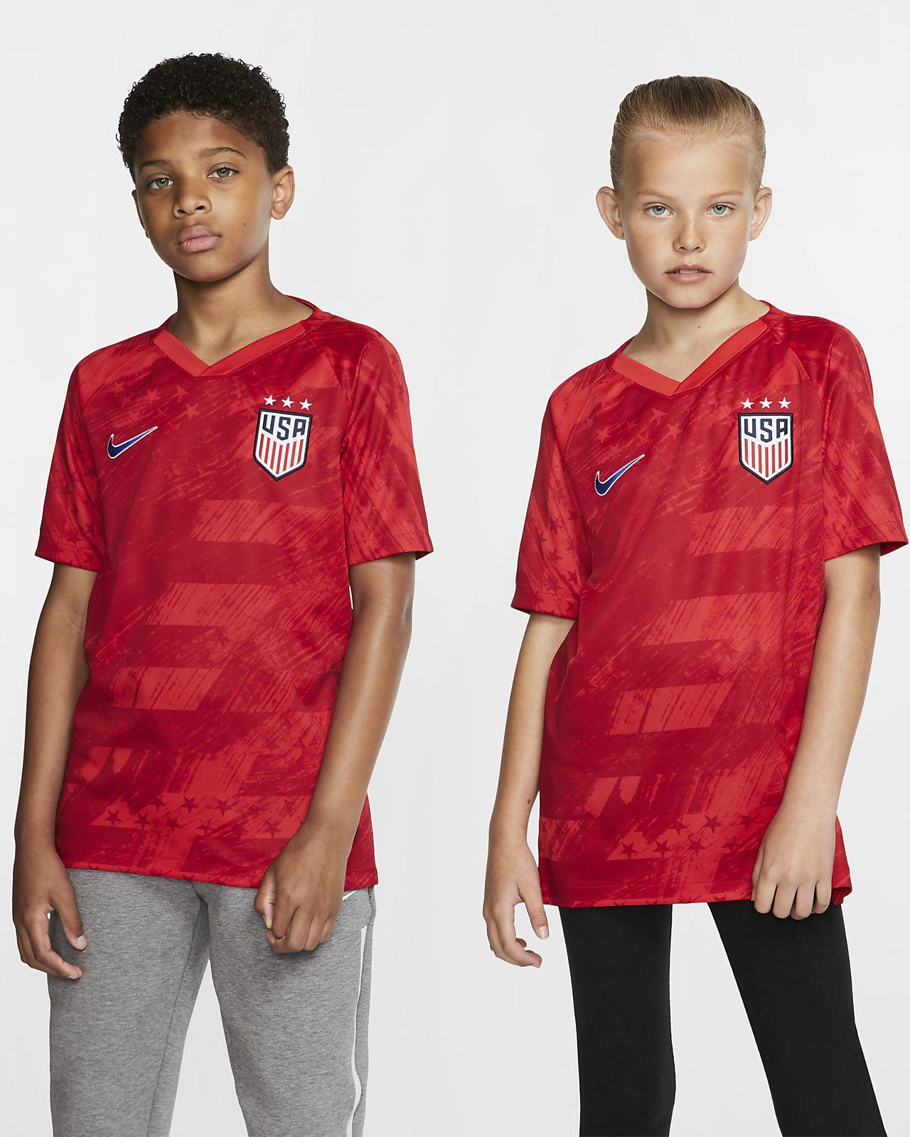 U.S. Stadium 2019 (3-Star) Big Kids' Away Jersey