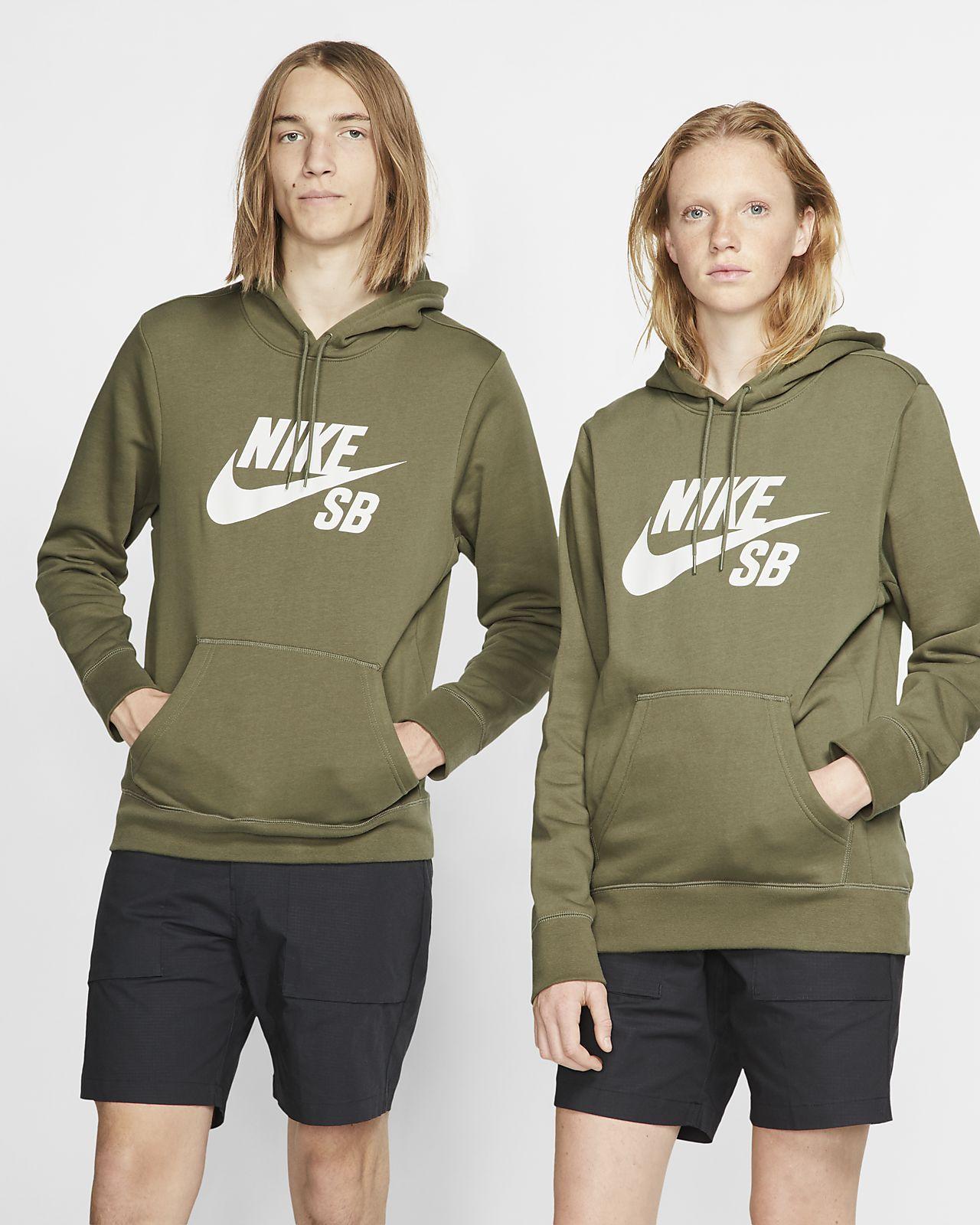 Μπλούζα skateboarding με κουκούλα Nike SB Icon
