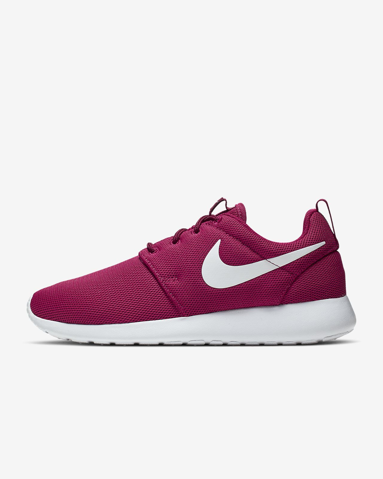 Nike Womens Roshe Run Red Volt Green from | Athletic