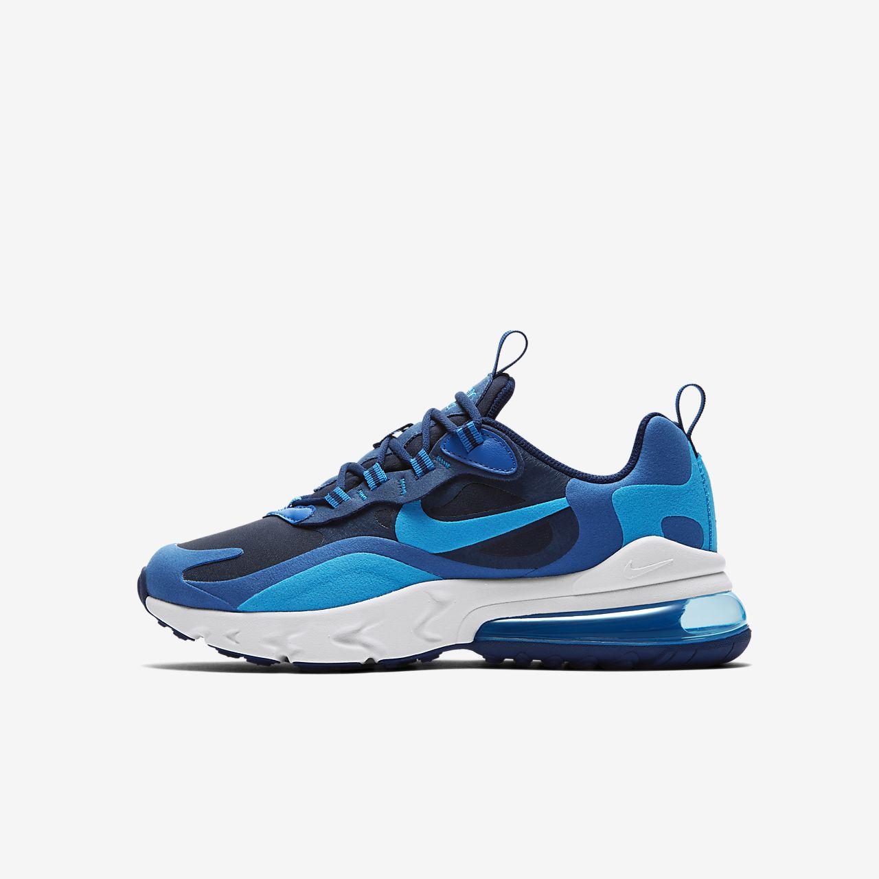 Nike Air Max 270 React-sko til store børn