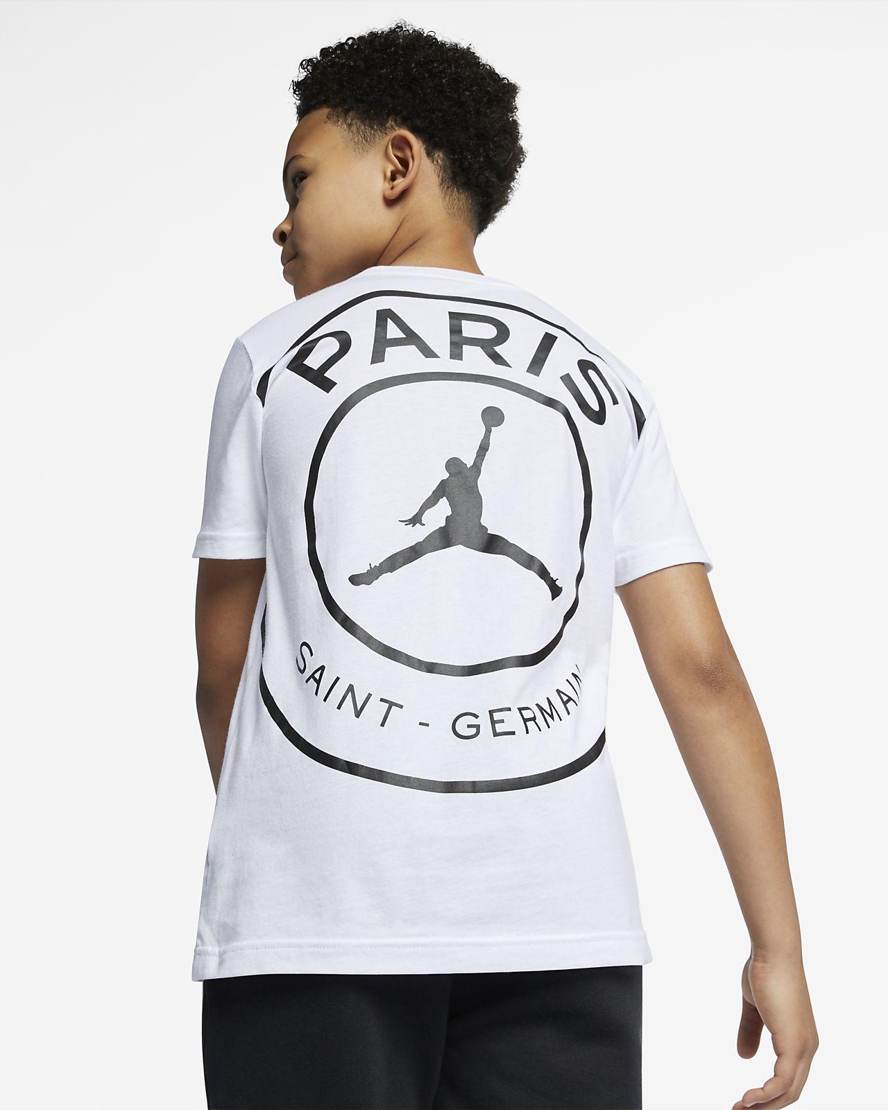 PSG T-shirt met logo voor kids