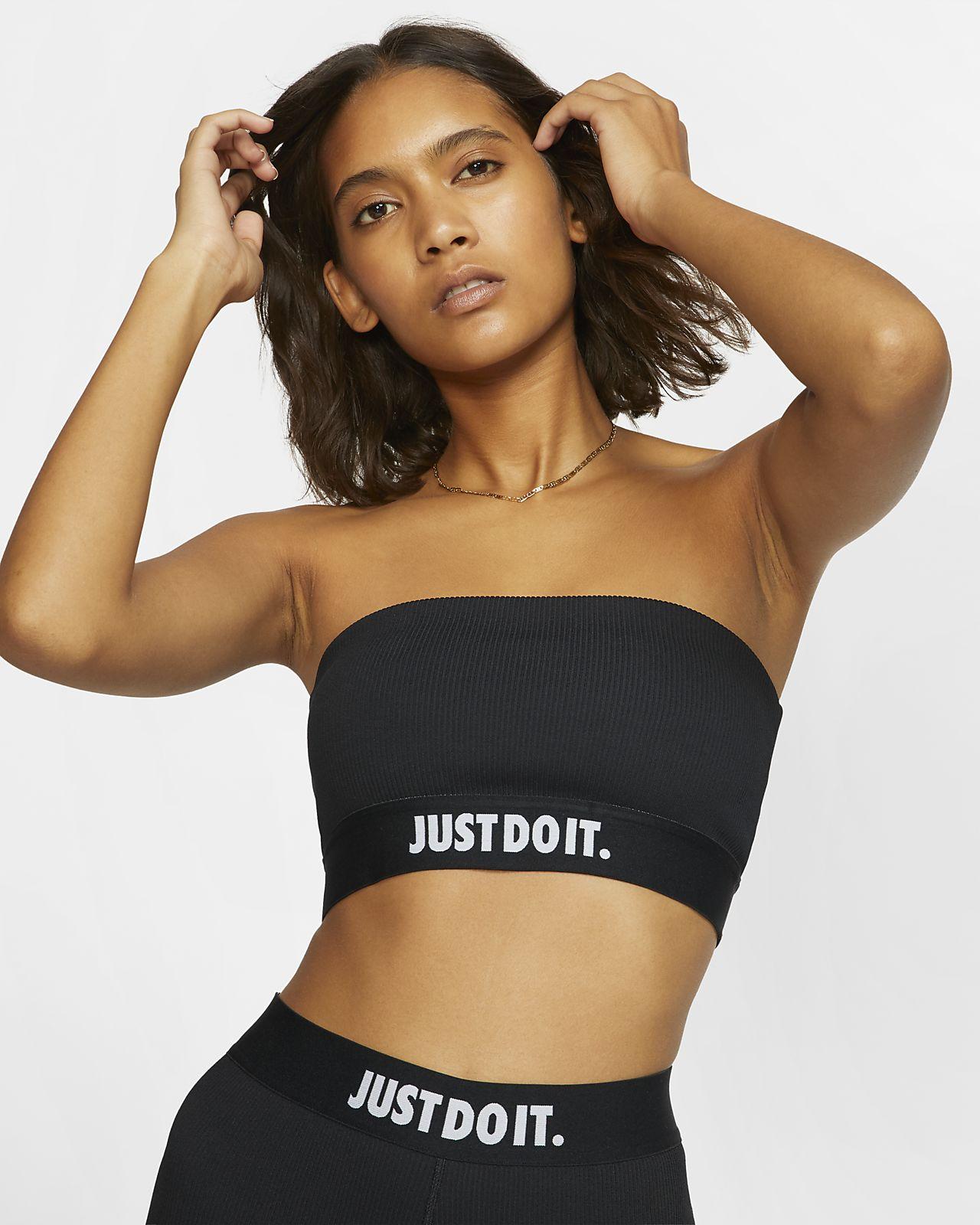 Женская футболка из рубчатой ткани Nike Sportswear JDI