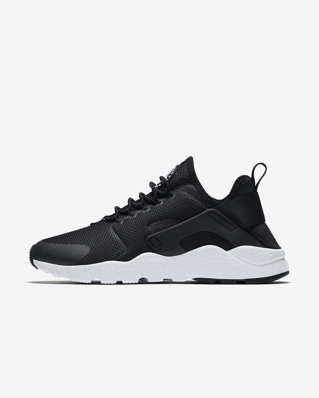 nike women's air huarache run - black \/white stores like forever