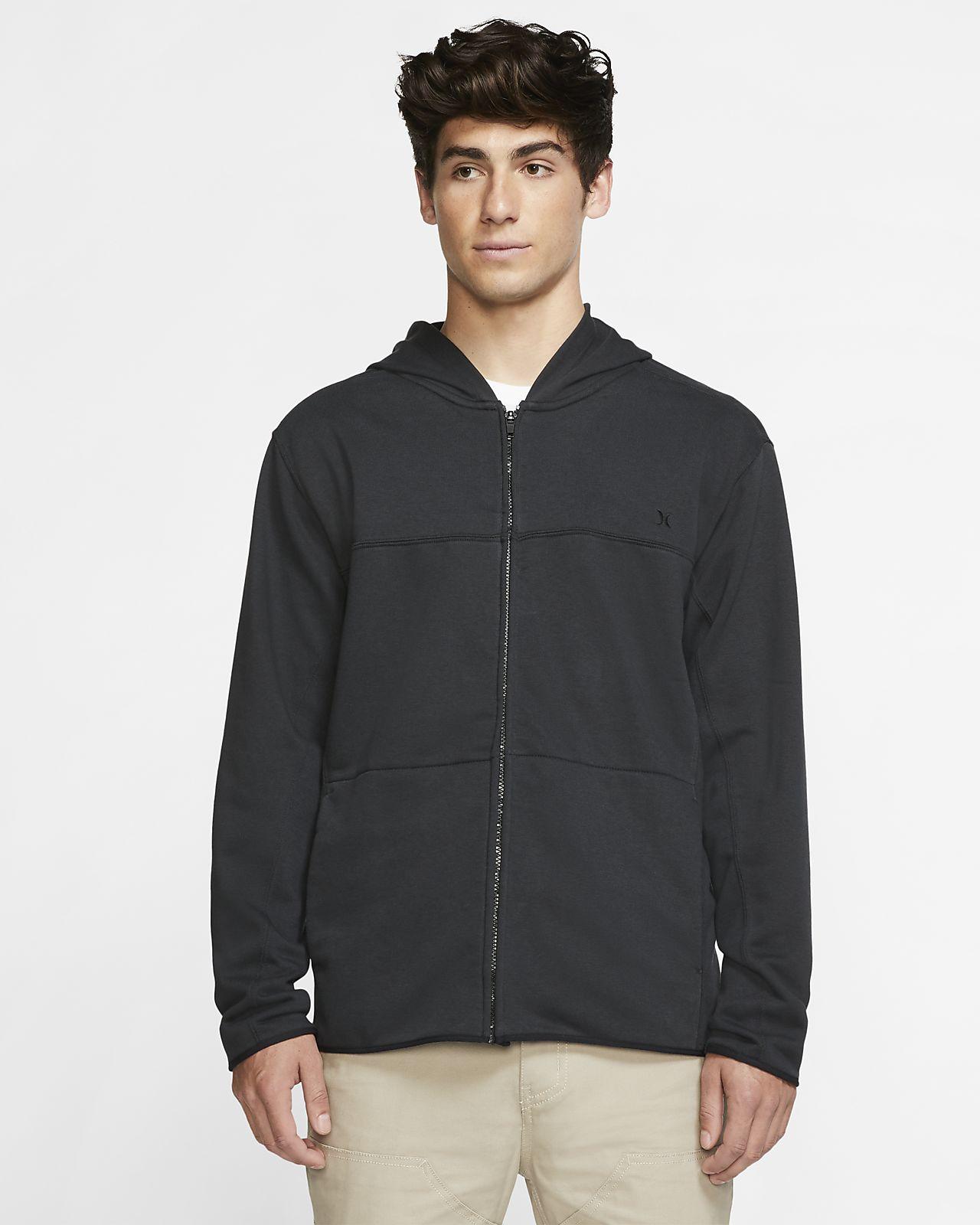 Felpa con cappuccio in fleece con zip a tutta lunghezza Hurley Dri-FIT Naturals - Uomo