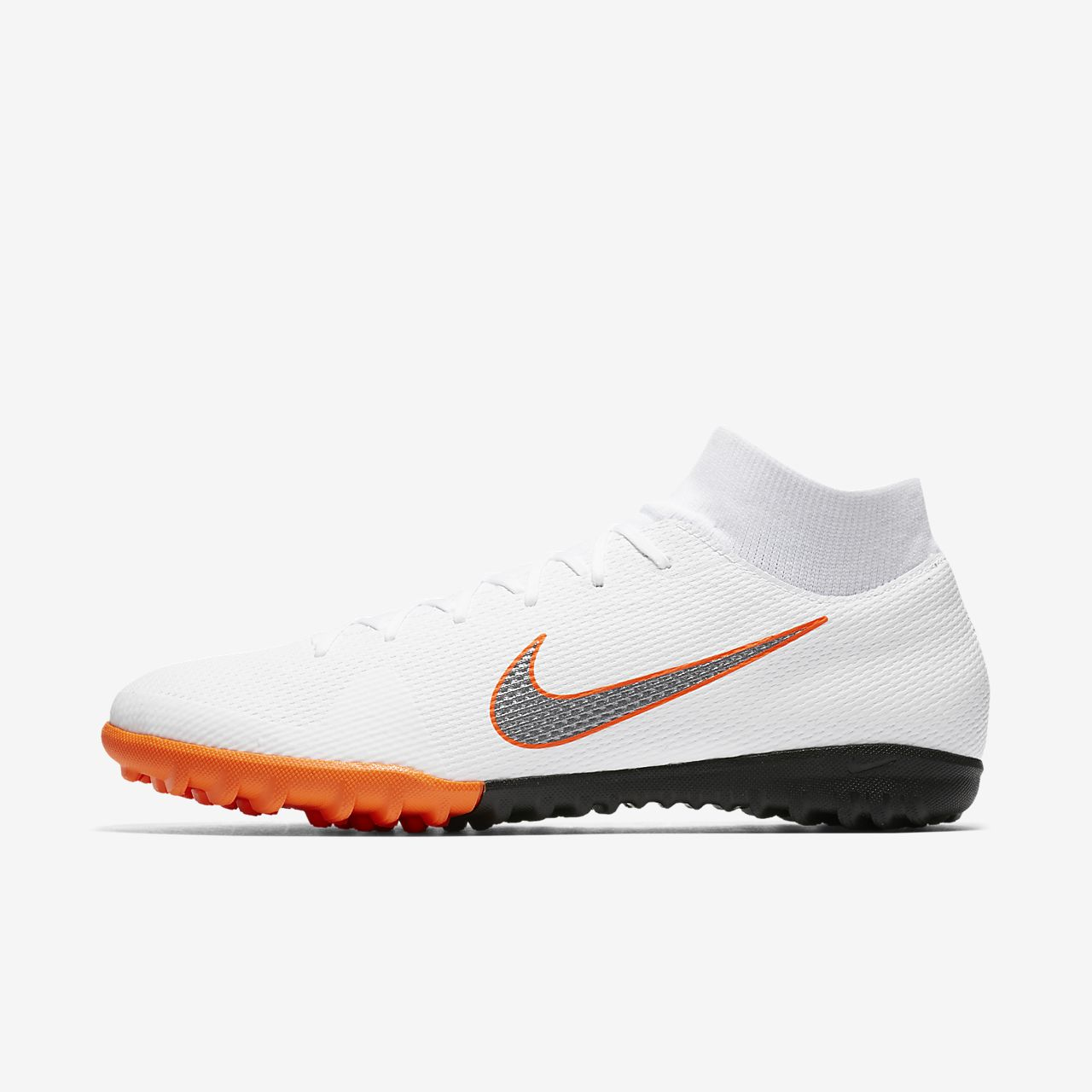 Scarpa da calcio per erba artificiale/sintetica Nike MercurialX Superfly VI Academy Just Do It - Bianco nike bianco