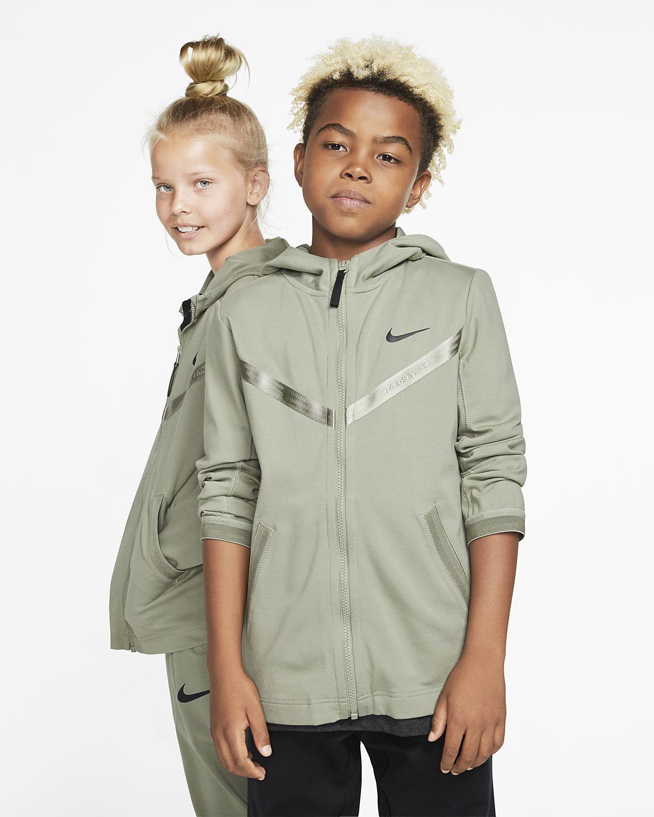 Nike Sportswear Tech Pack Hoodie met rits voor kids