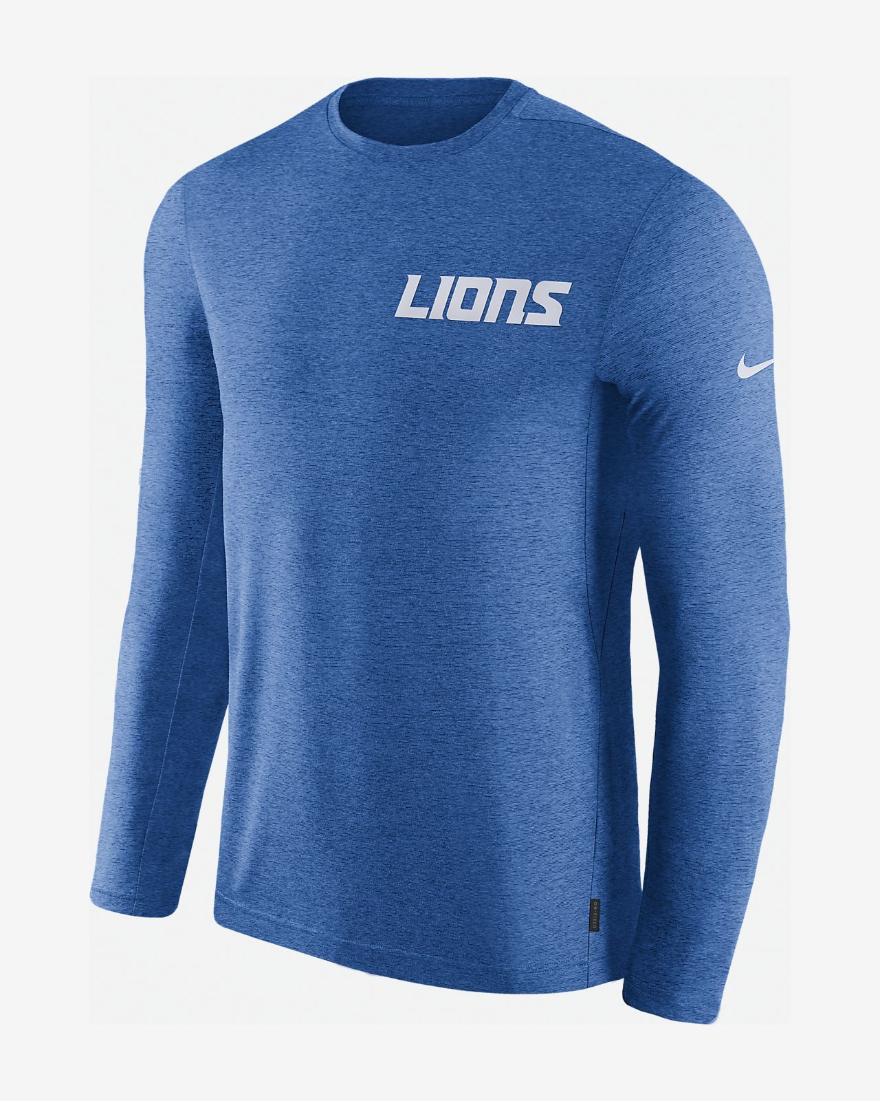 617aa416097824 Nike Dri-FIT Coach (NFL Lions) Men s Long-Sleeve Top. Nike.com