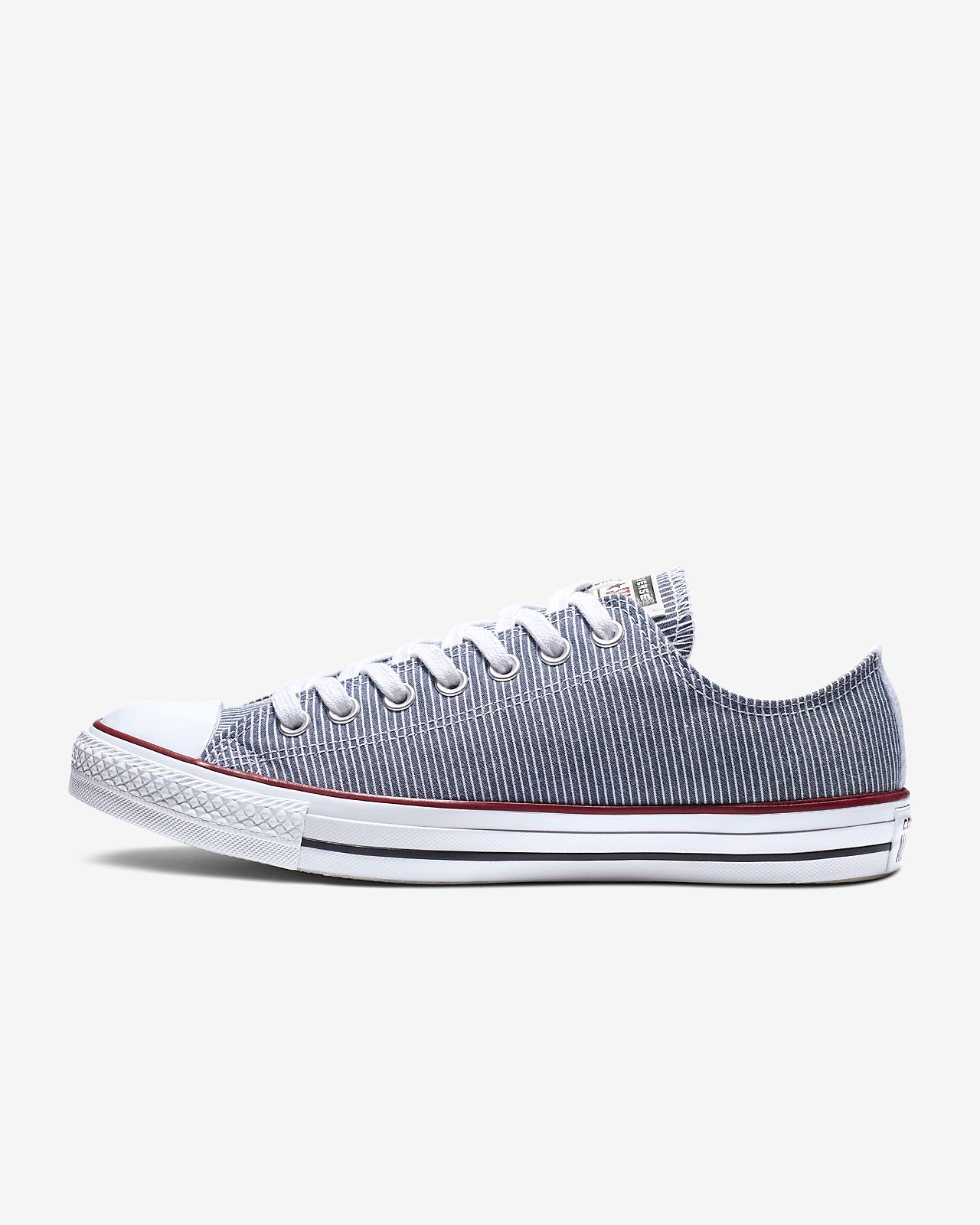Chuck Taylor All Star Stripes Low Top Unisex Shoe