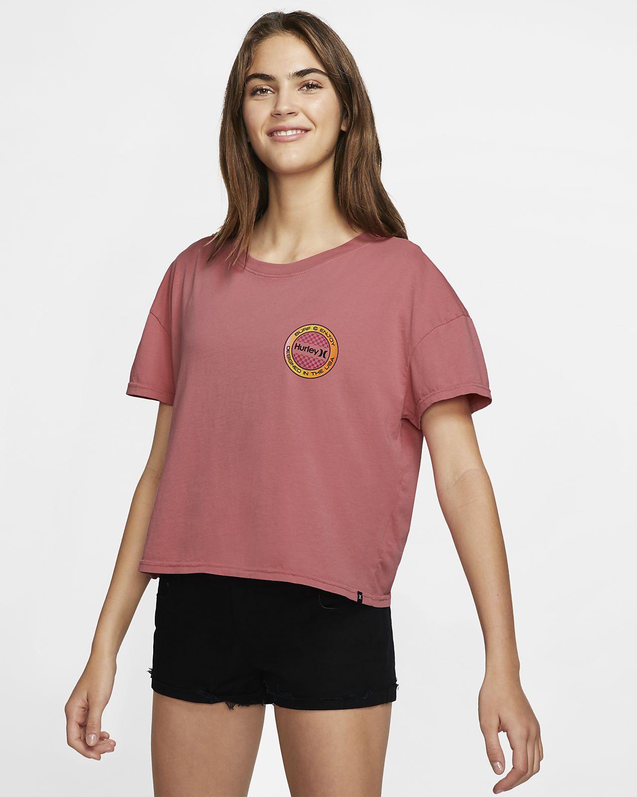 Hurley Circle Check Flouncy Women's T-Shirt