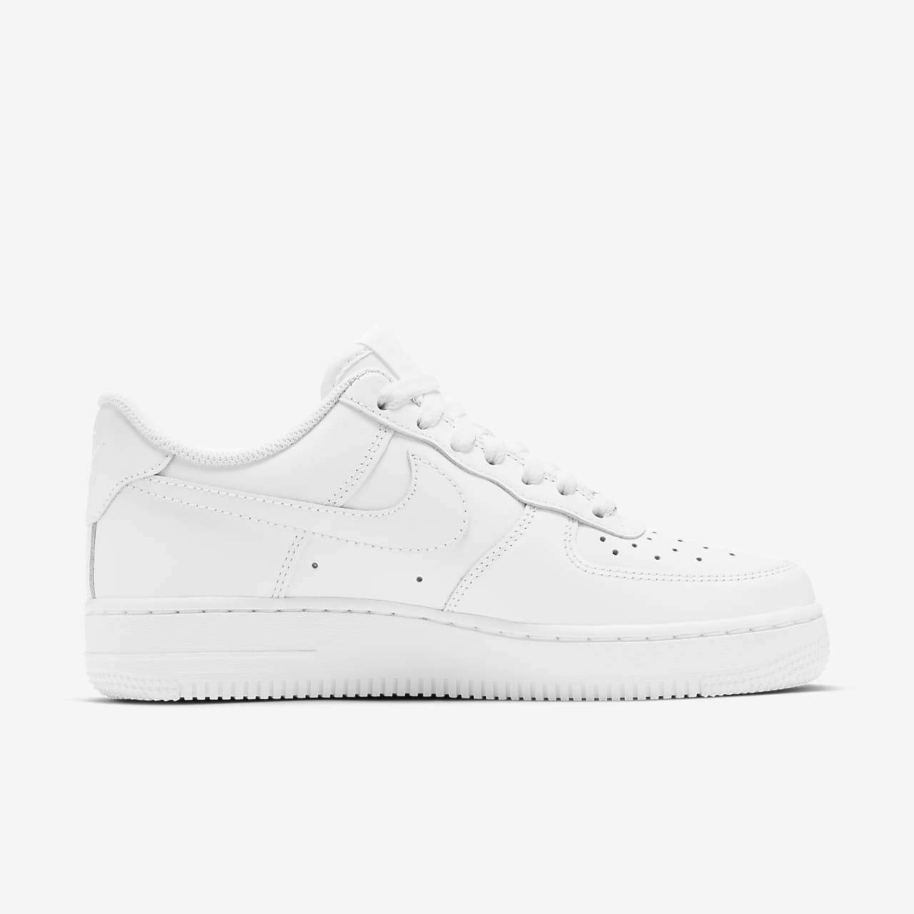 tenis nike air force 1 one mid white classic 312