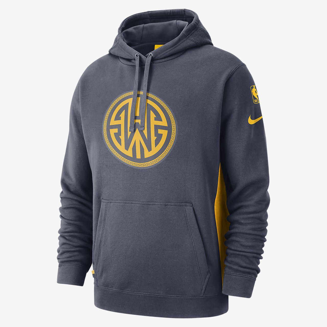 金州勇士队 Nike 男子 NBA 连帽衫