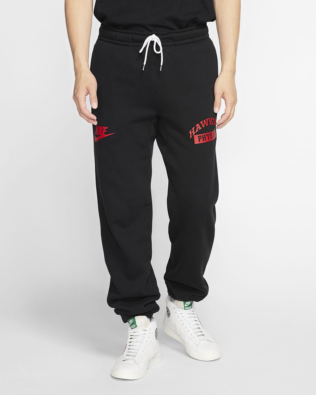 กางเกงผ้าฟลีซผู้ชาย Nike x Stranger Things