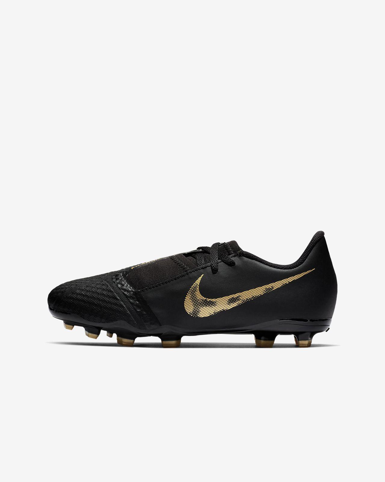 Fotbollssko för gräs Nike Jr. PhantomVNM Academy FG Game Over för ungdom