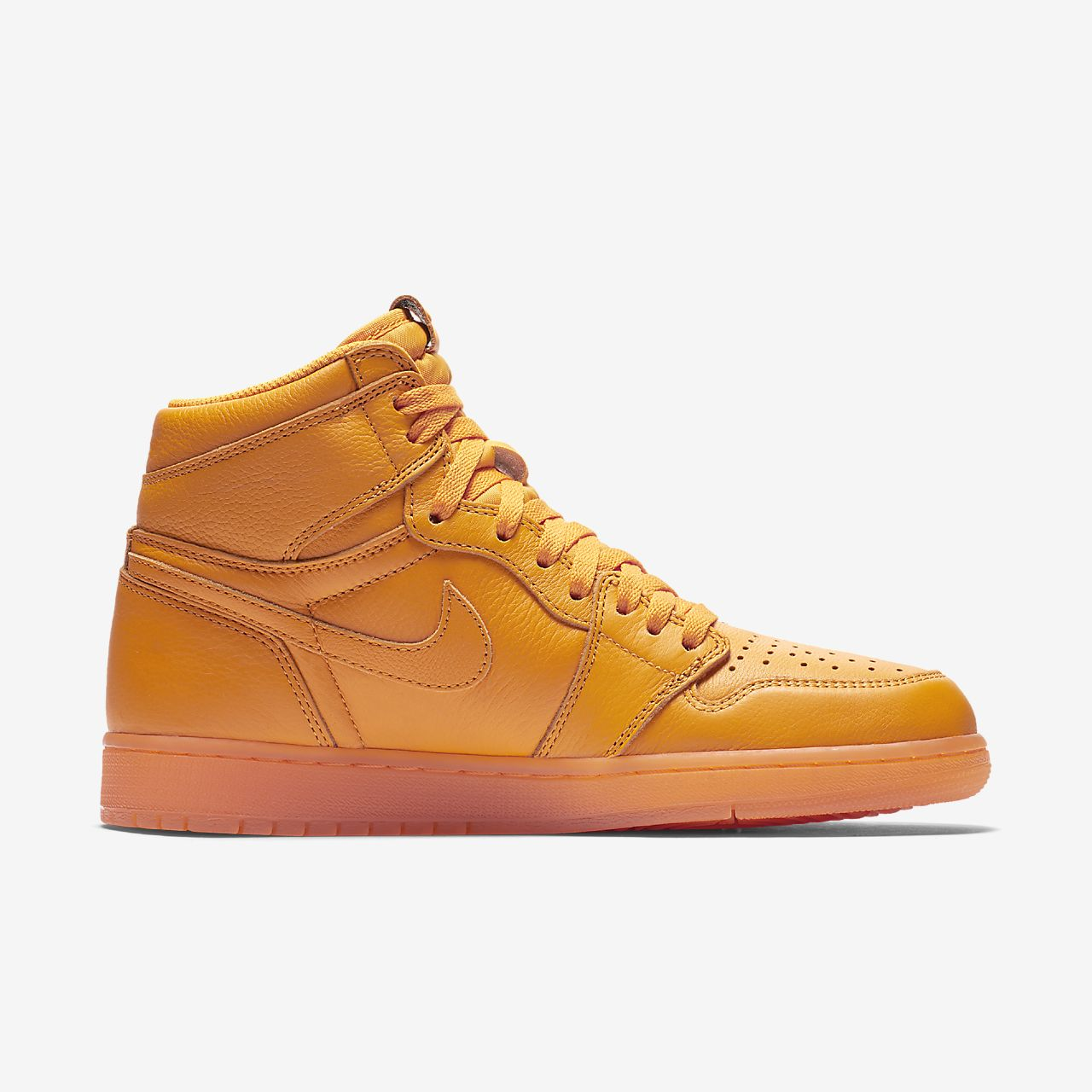 buy online 60375 56f3c ... Chaussure Air Jordan 1 Retro High OG « Orange » pour Homme