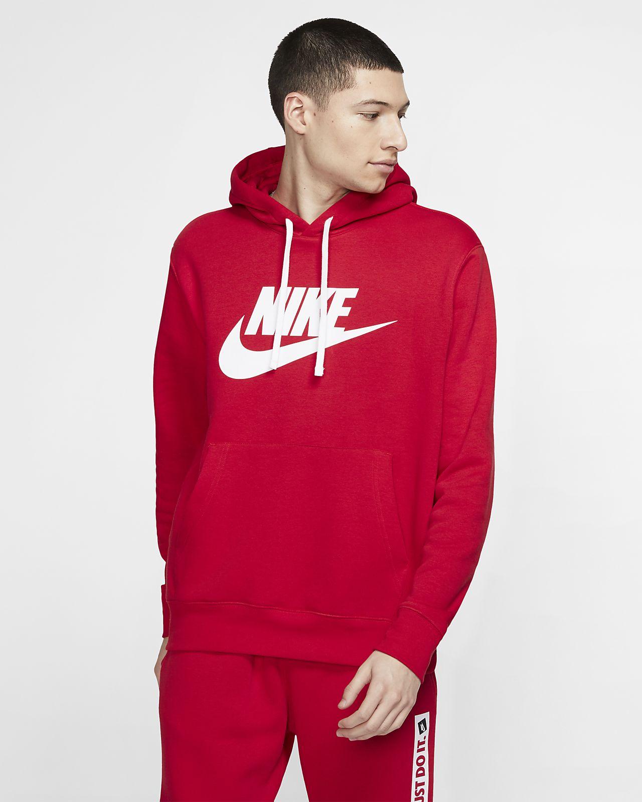 Hoodie pullover com grafismo Nike Sportswear Club Fleece para homem