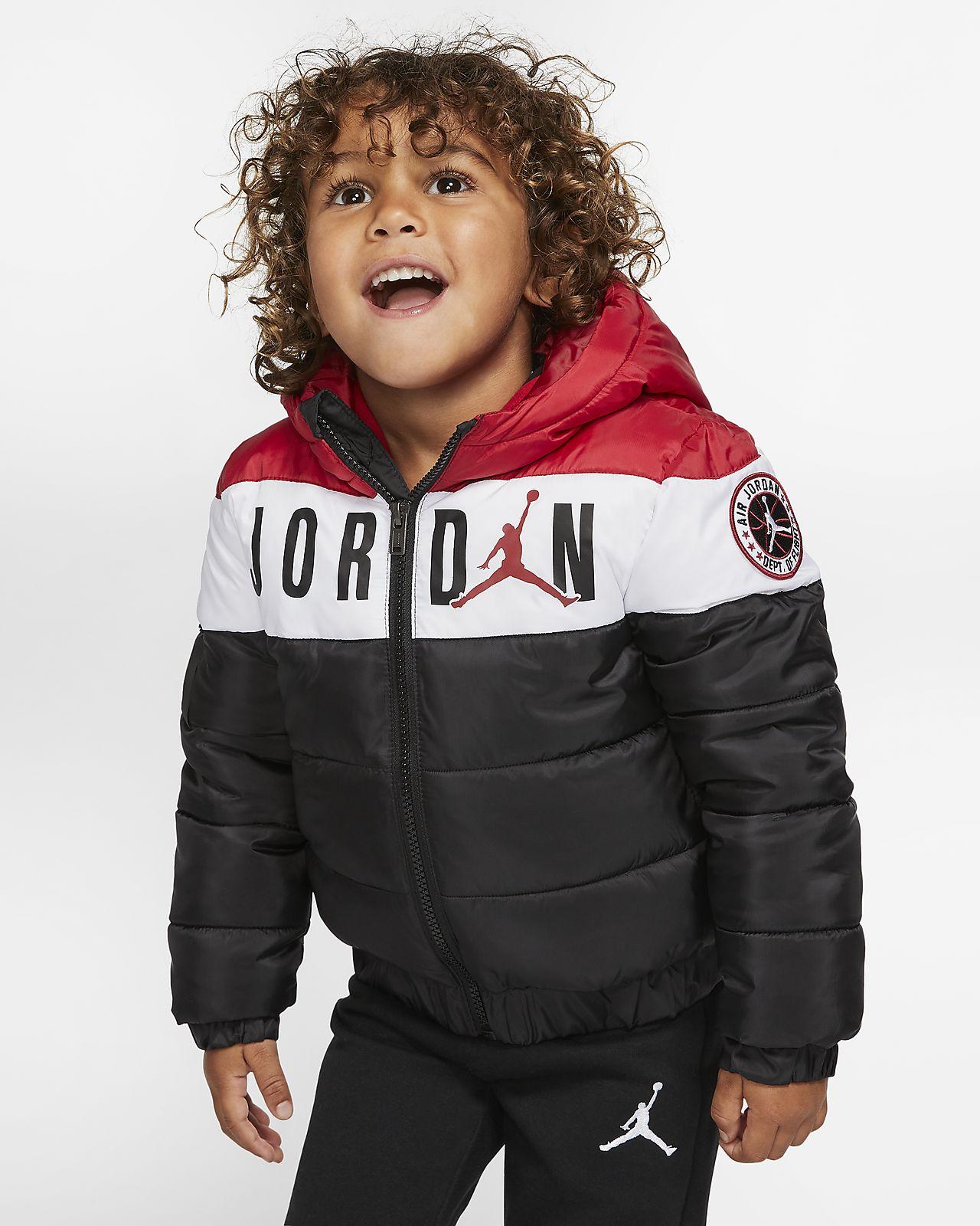 Dunjacka Jordan Jumpman med färgblock för små barn