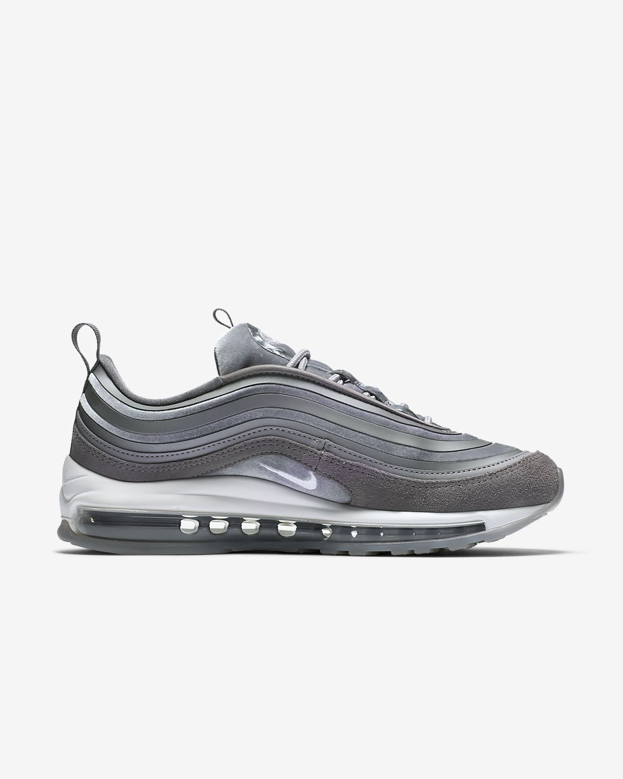 Nike Air Max 97 Ultra '17 LX Women's Lifestyle Shoes Grey/White jZ6938Z