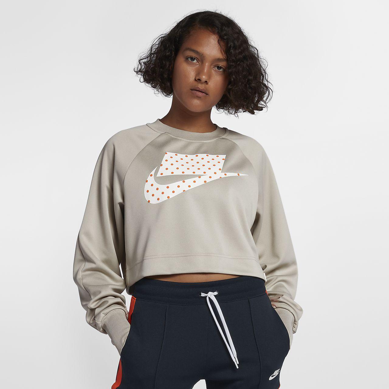 8e5089313875 Nike Fr Haut Pour Court Sportswear Femme 0qqwx5A7