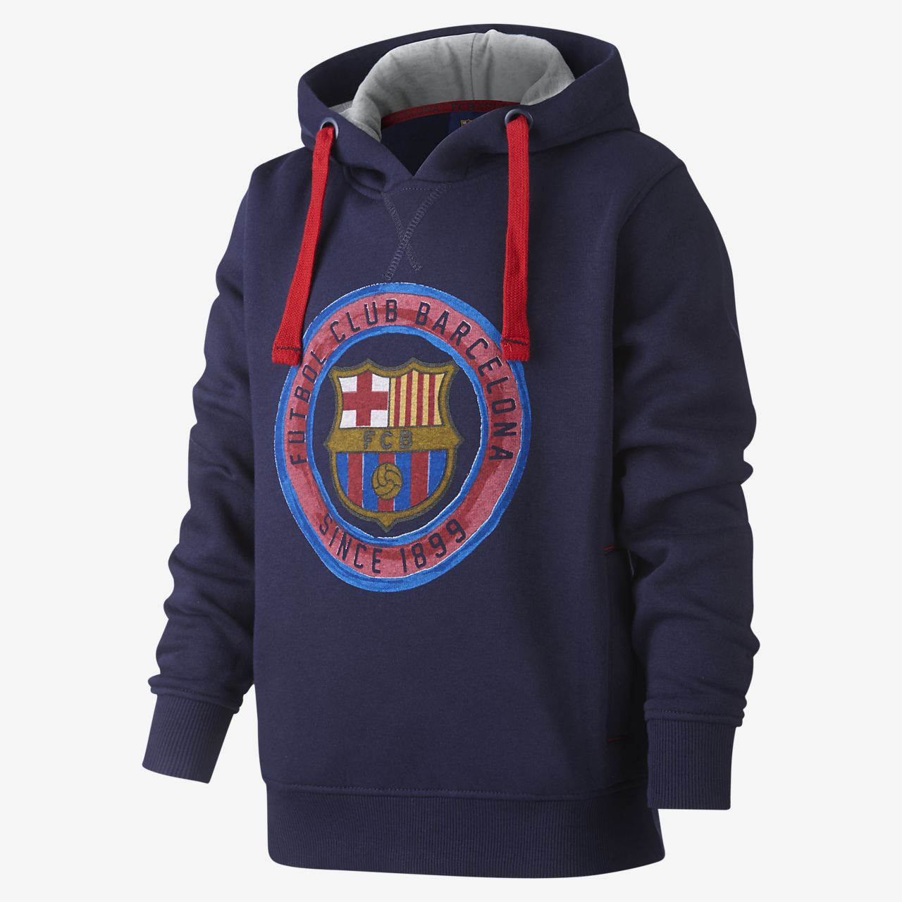 FC Barcelona Older Kids' Sweatshirt Hoodie