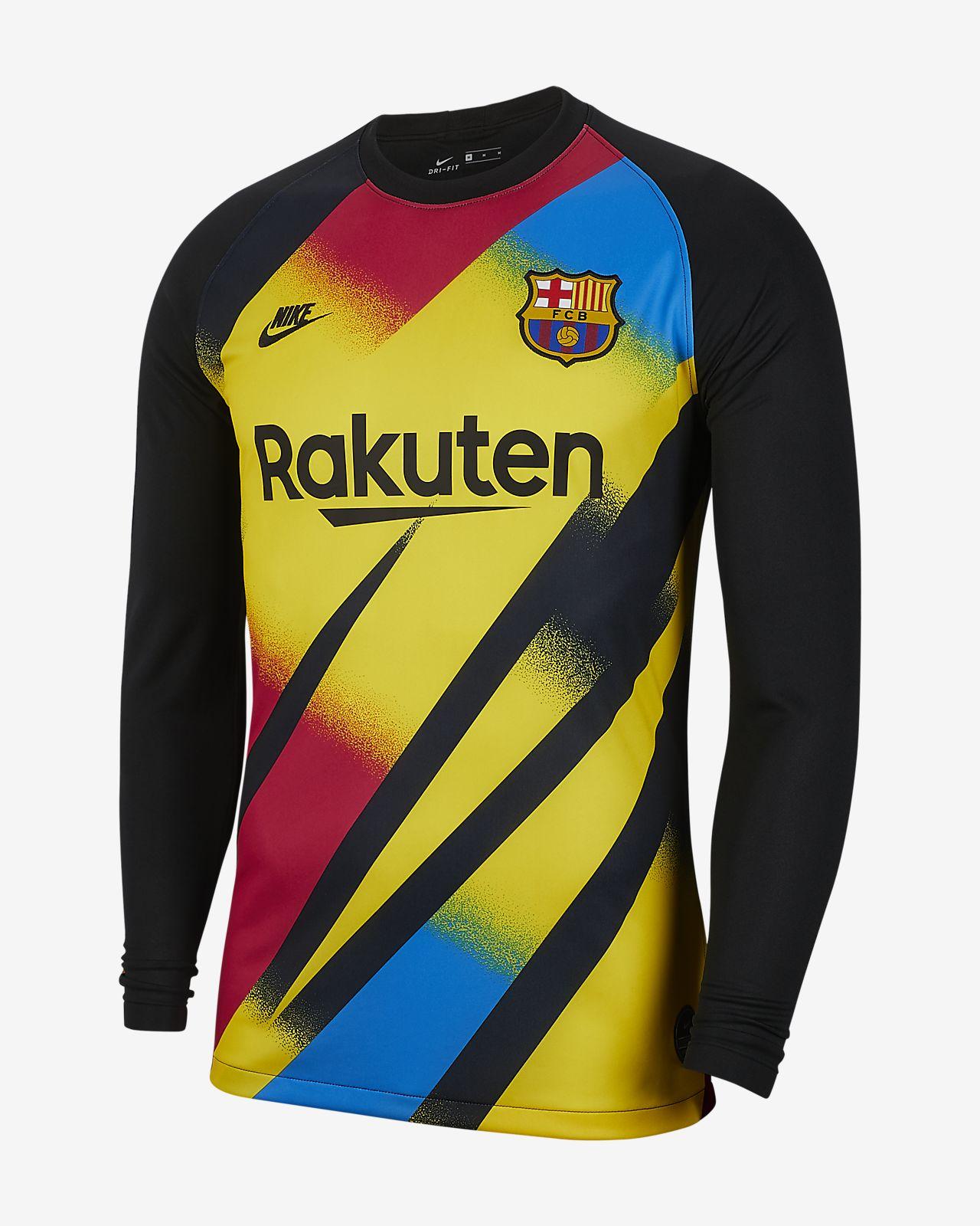 FC Barcelona 2019/20 Stadium Goalkeeper Erkek Futbol Forması
