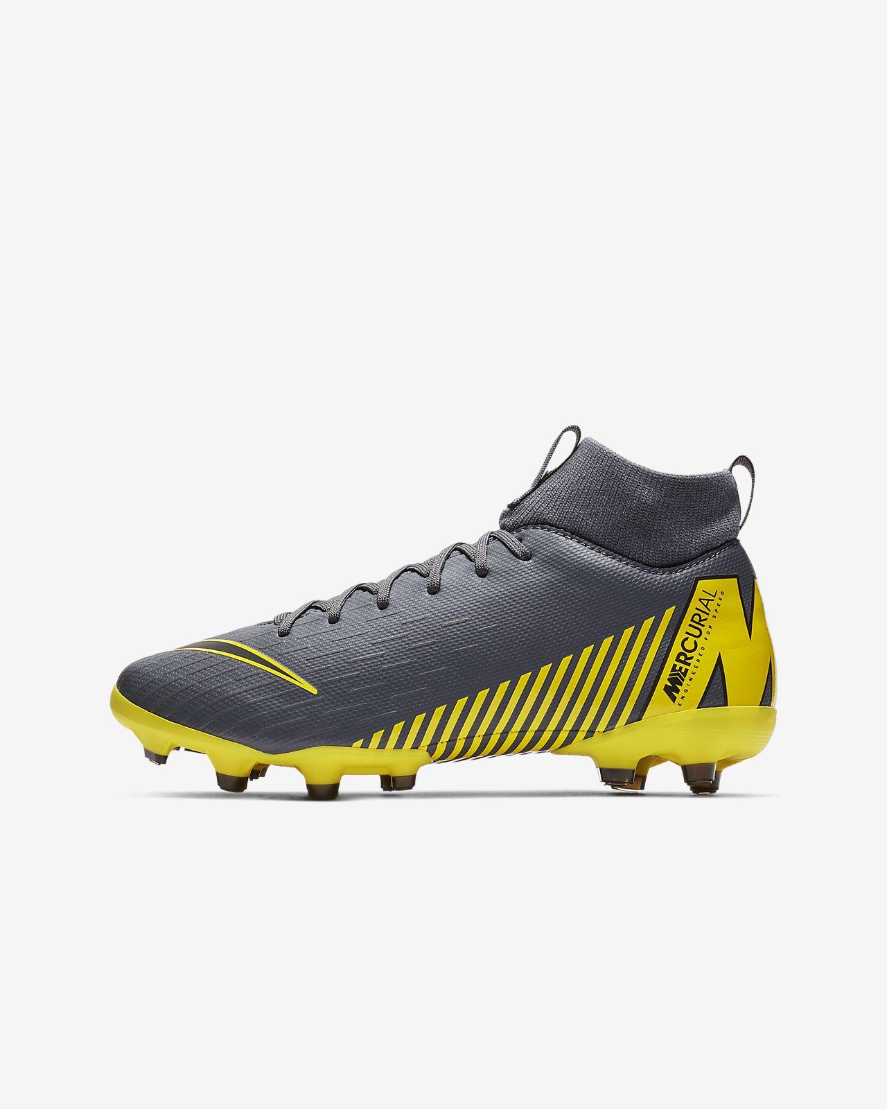 Nike Jr. Superfly 6 Academy MG Game Over-fodboldstøvlen til små og store børn til flere typer underlag