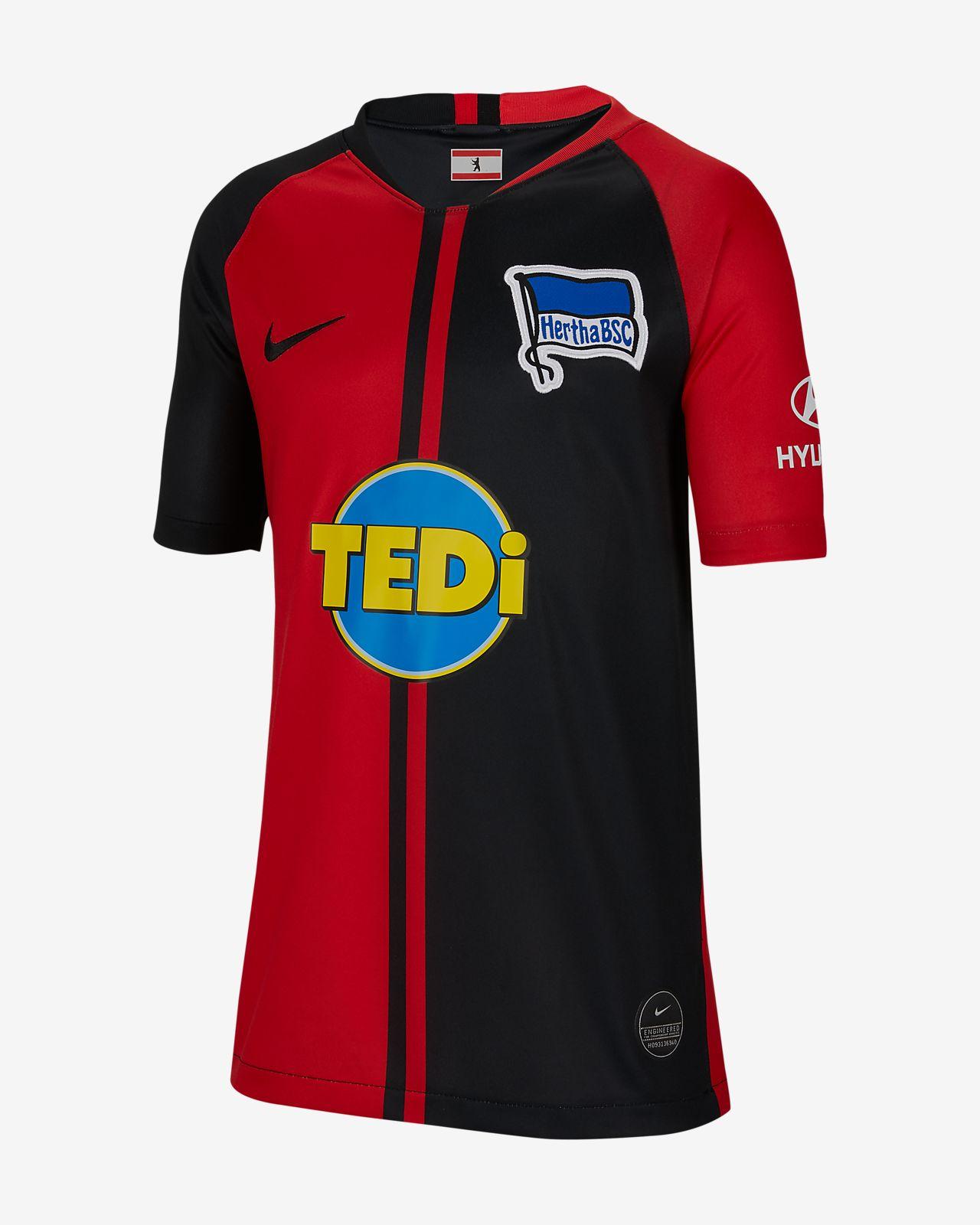 Hertha BSC 2019/20 Stadium Away Older Kids' Football Shirt