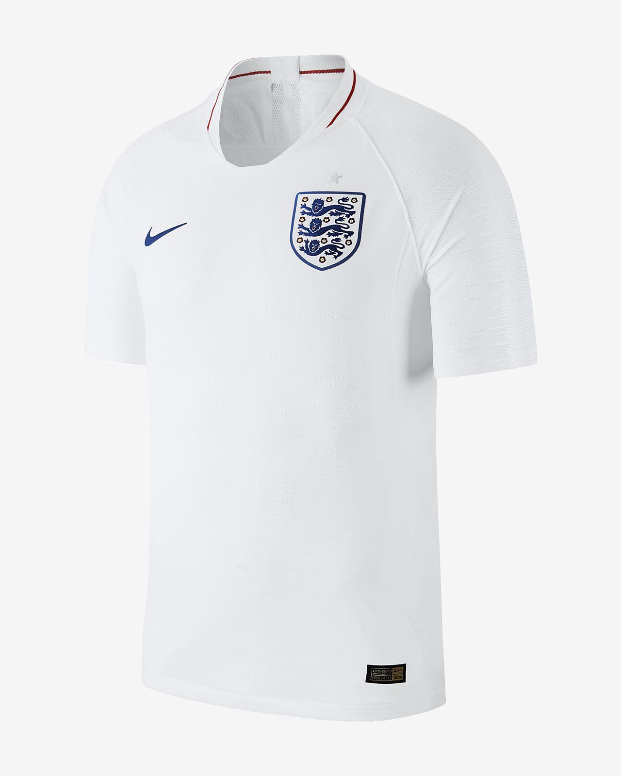 Maillot de football 2018 England Vapor Match Home pour Homme