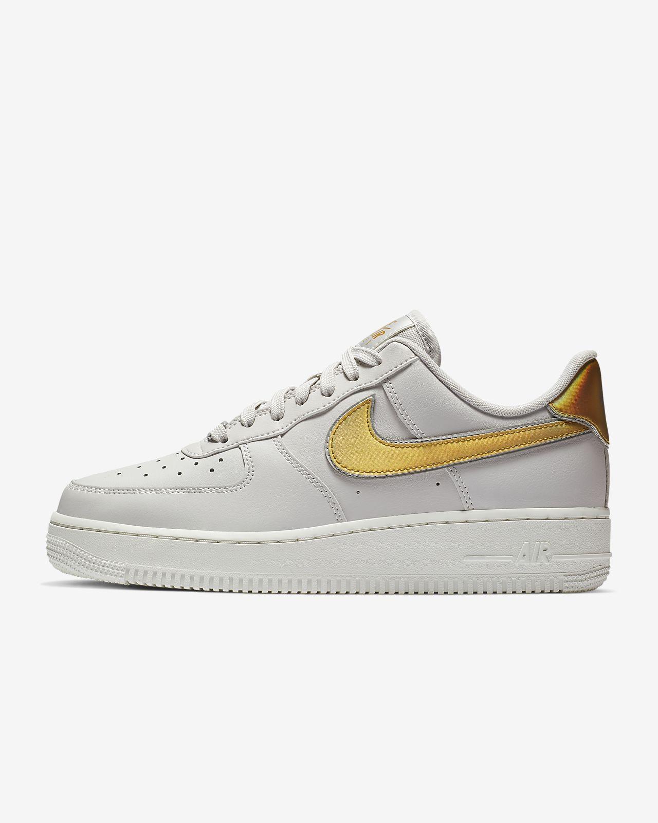 0aab3f5fa810a ... usa calzado para mujer nike air force 1 07 metallic 304c7 bc5ed