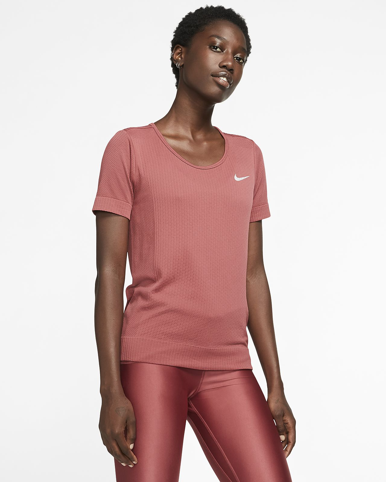 Nike Infinite kortermet løpeoverdel til dame