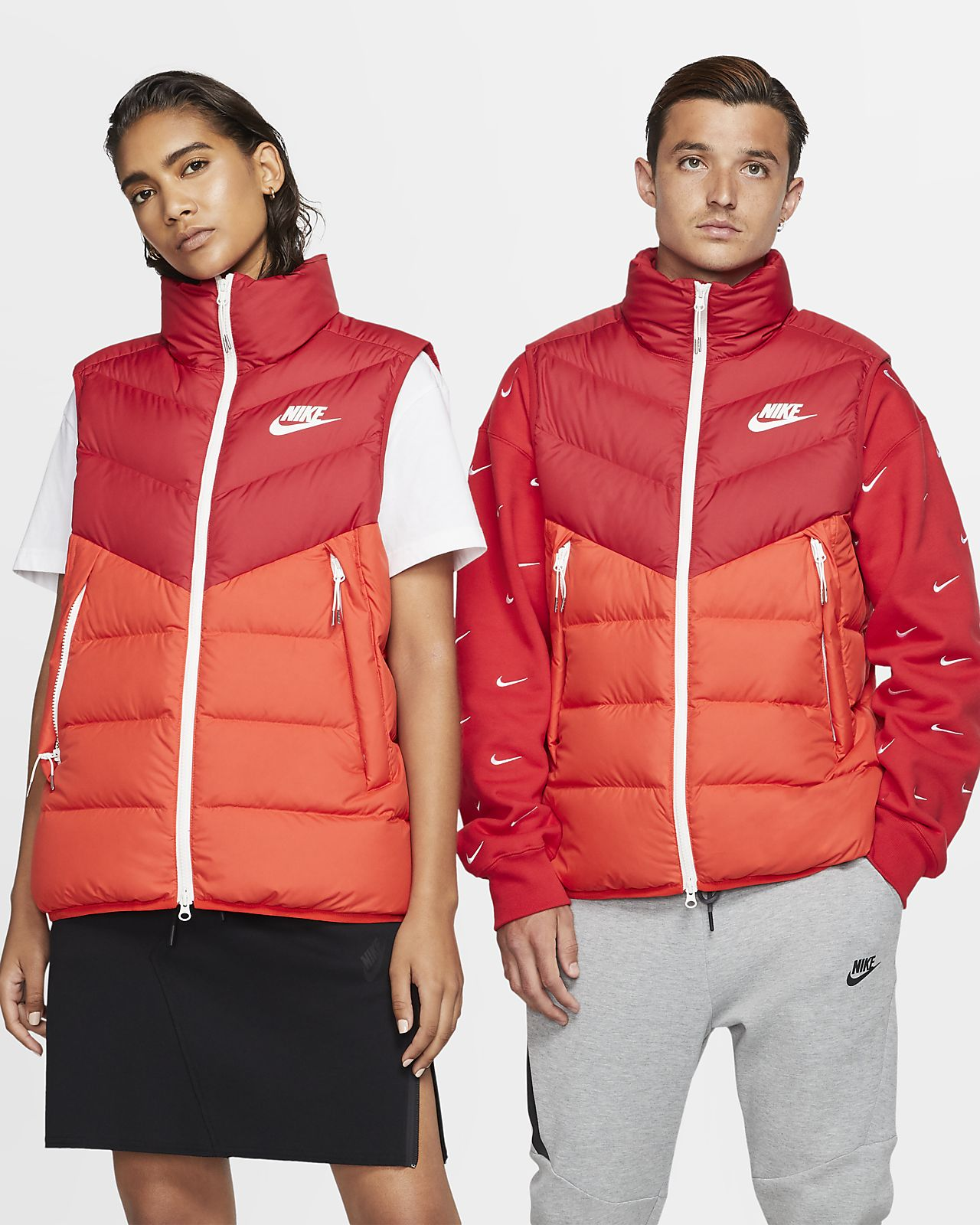 Chaleco para hombre Nike Sportswear Windrunner Down Fill